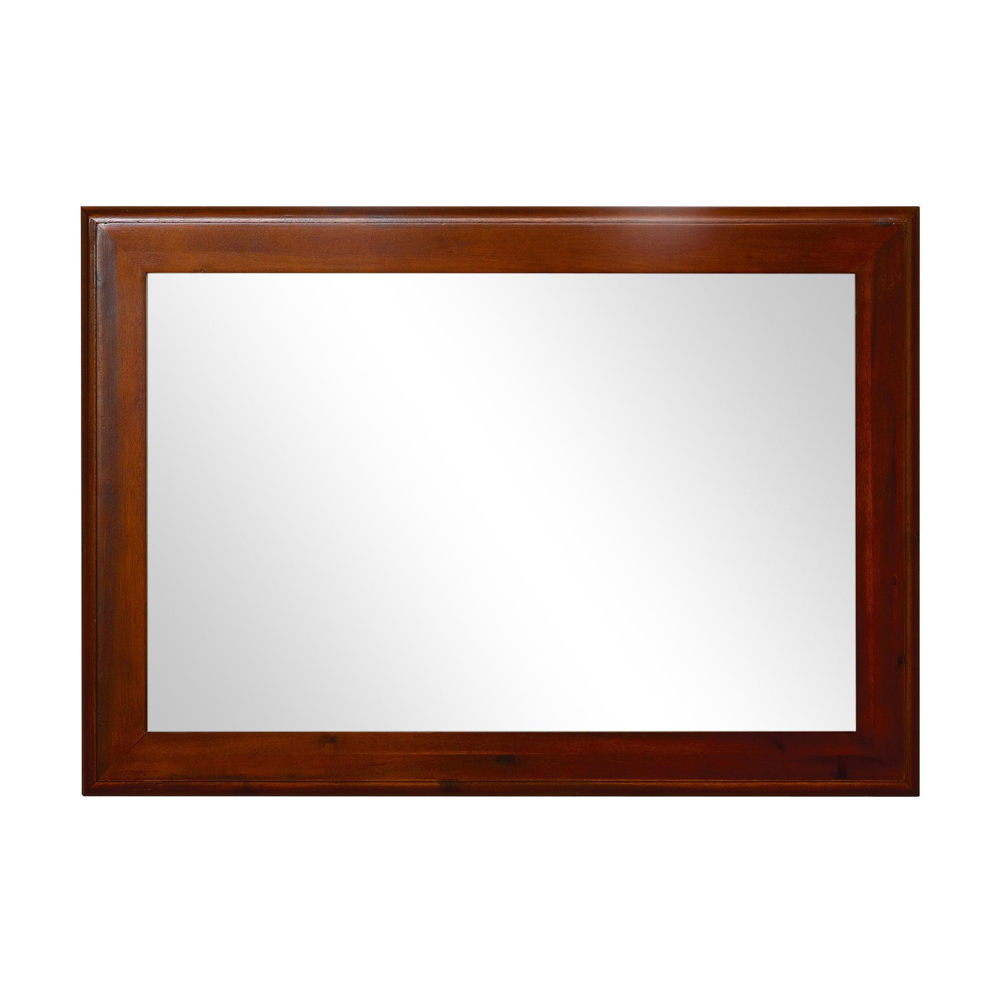 Winchester Acacia Dark Wood Mirror