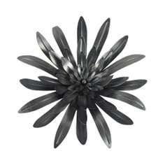3D Flower Metal Wall Art