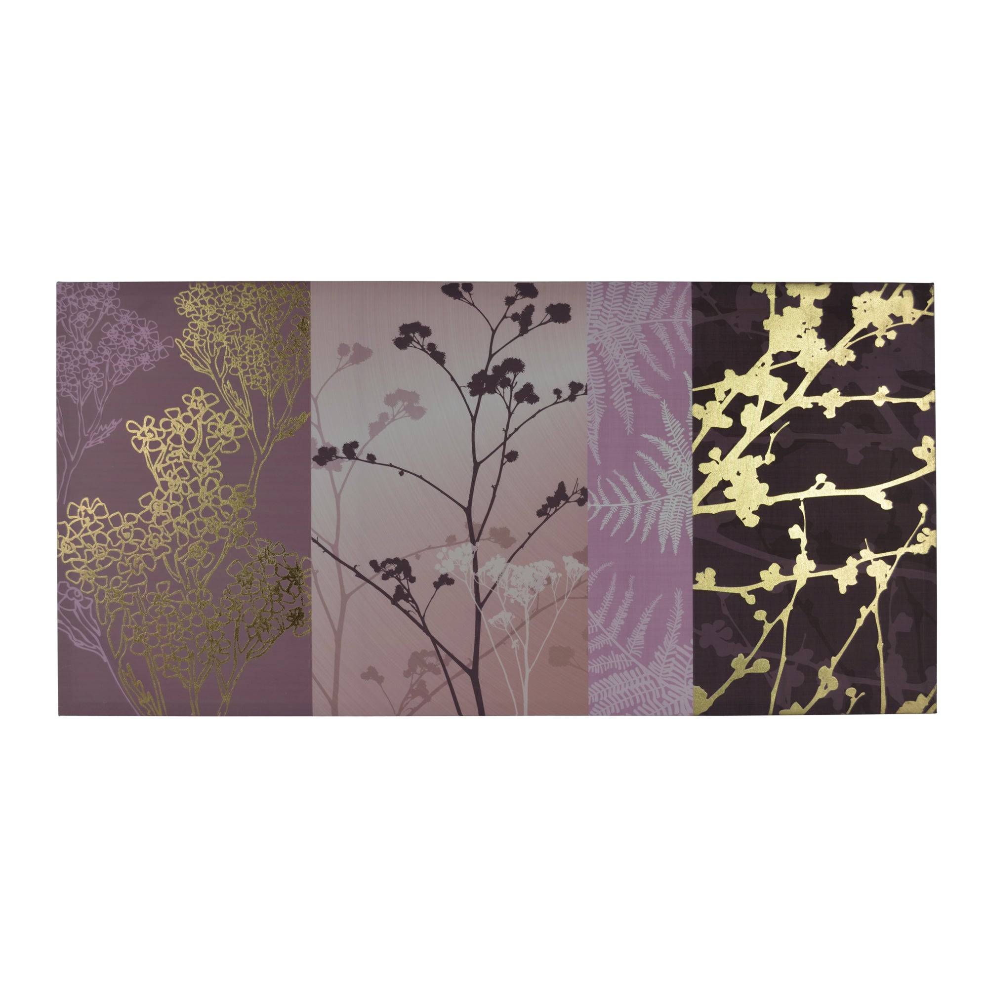 Cow Parsley Foil Canvas