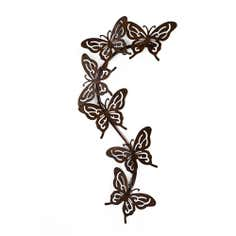 Cut Out Butterflies Metal Wall Art