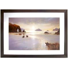Sunset Beach Framed Print