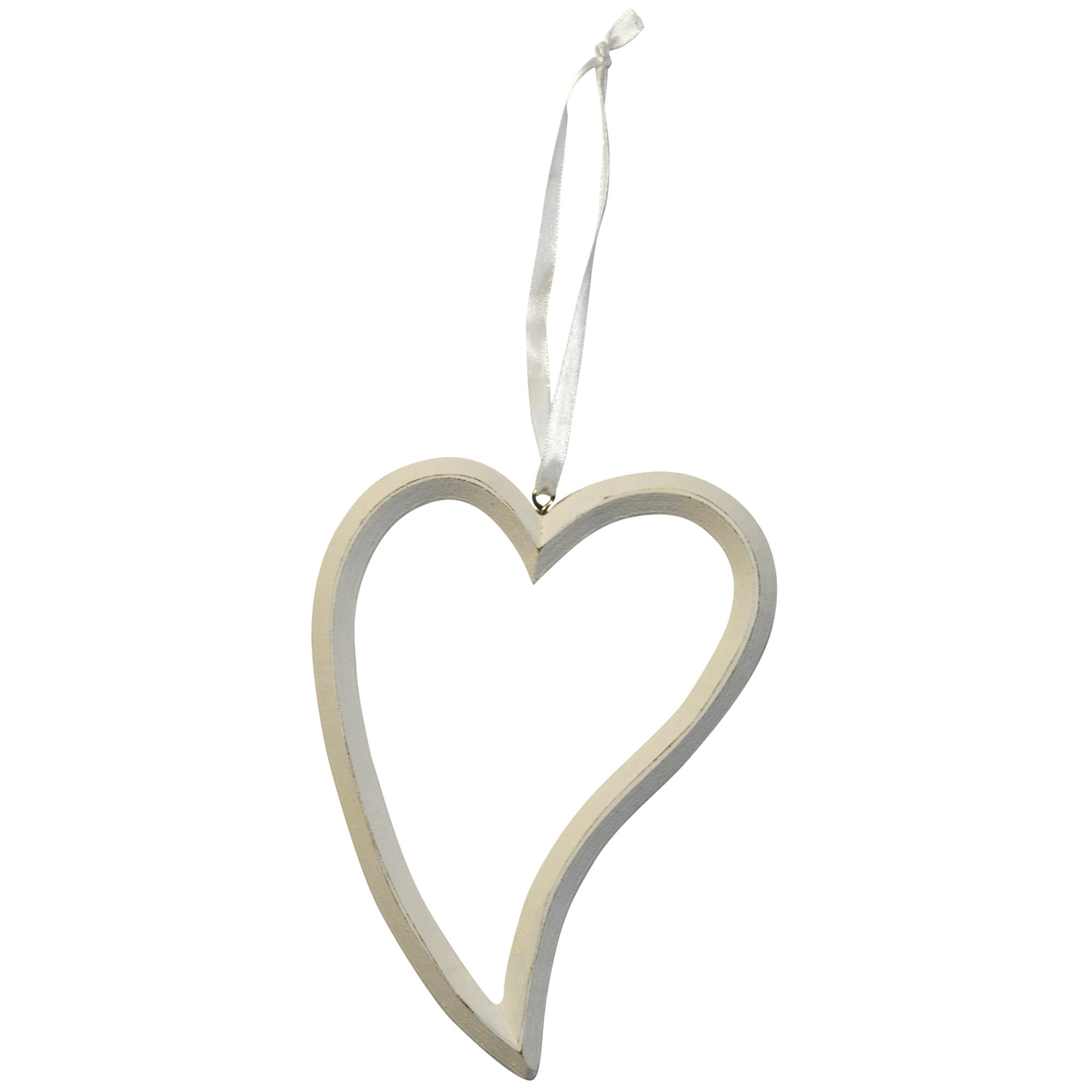 Blue Deco Collection Abstract Hanging Heart