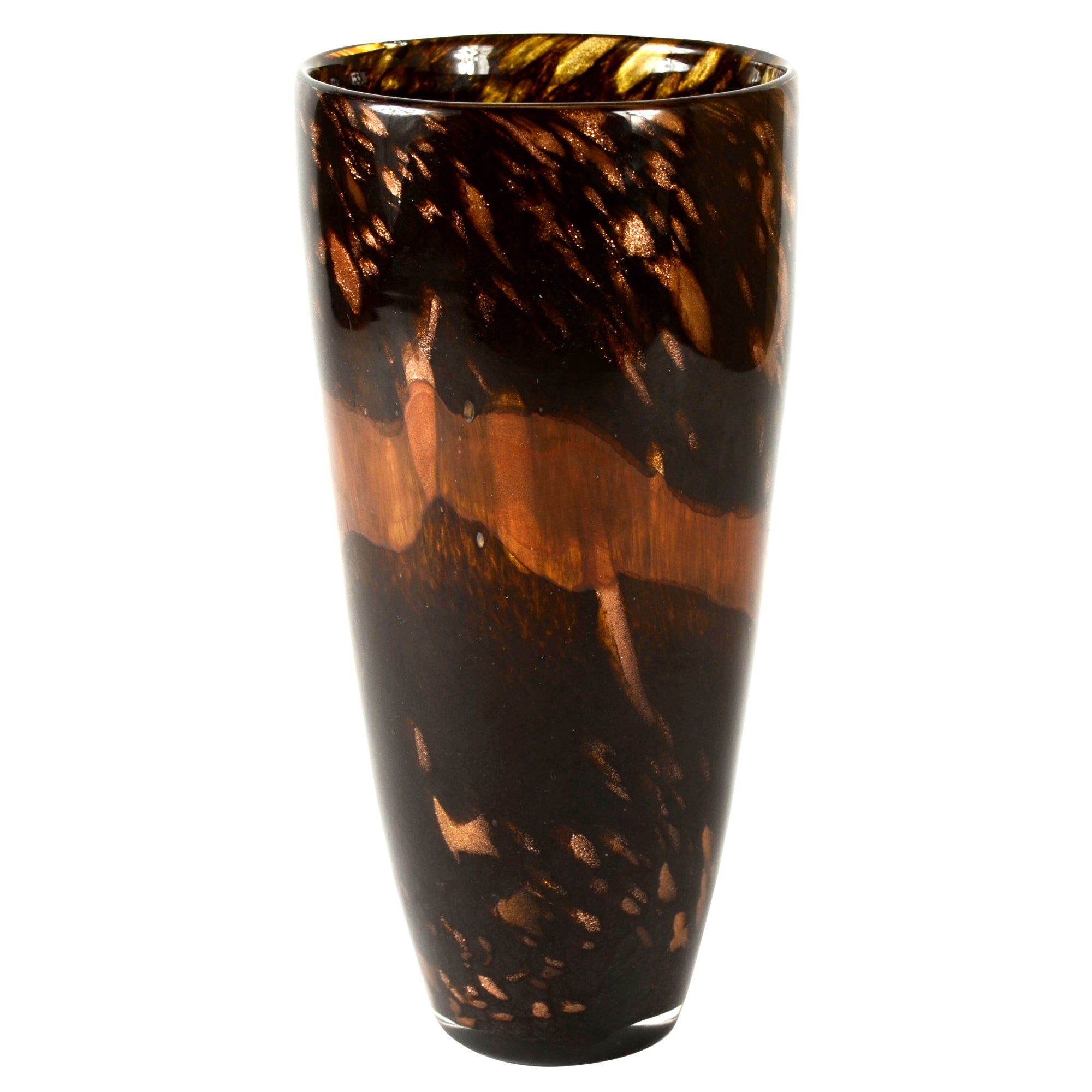 Burnt Sienna Collection V Shape Vase