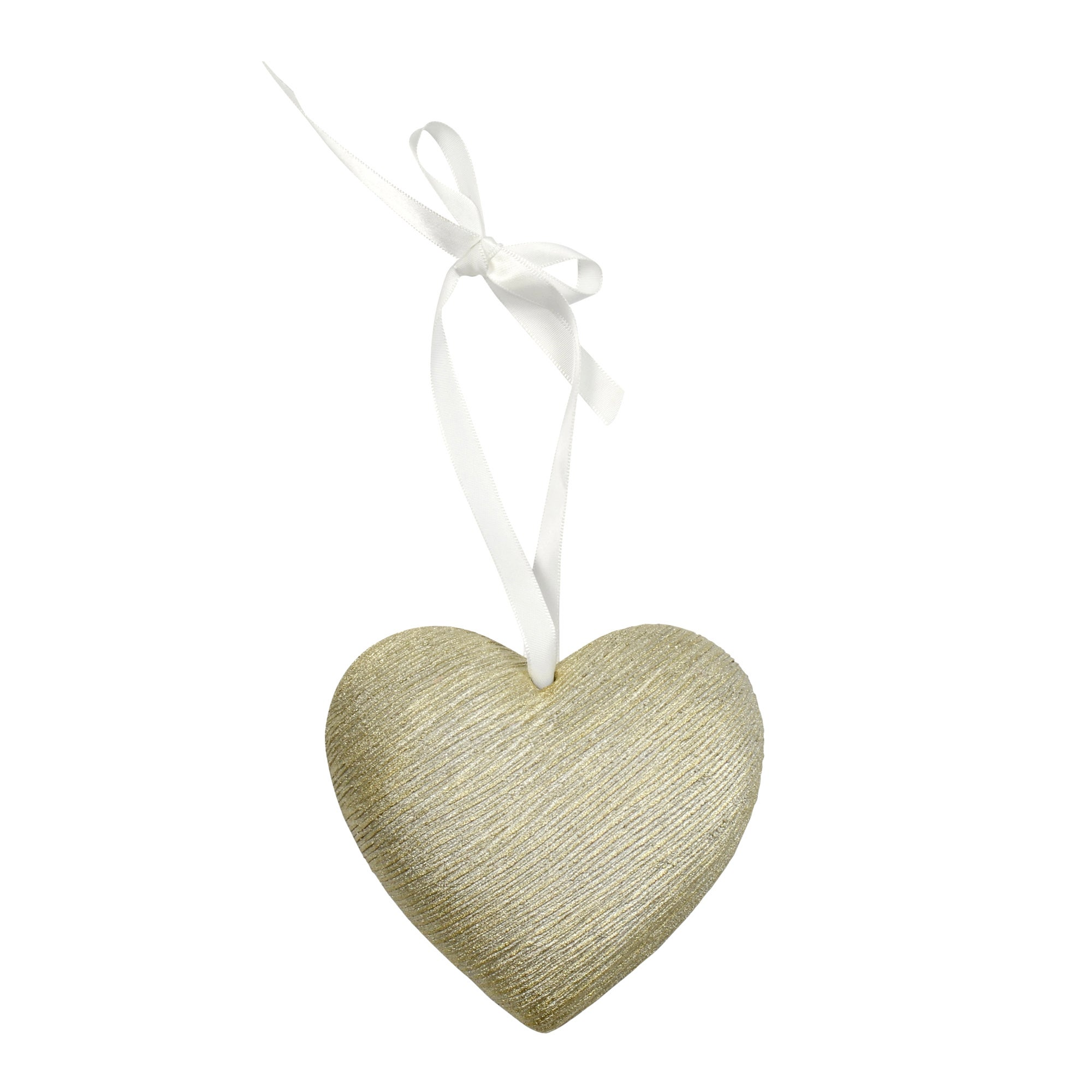 Classique Collection Textured Hanging Heart