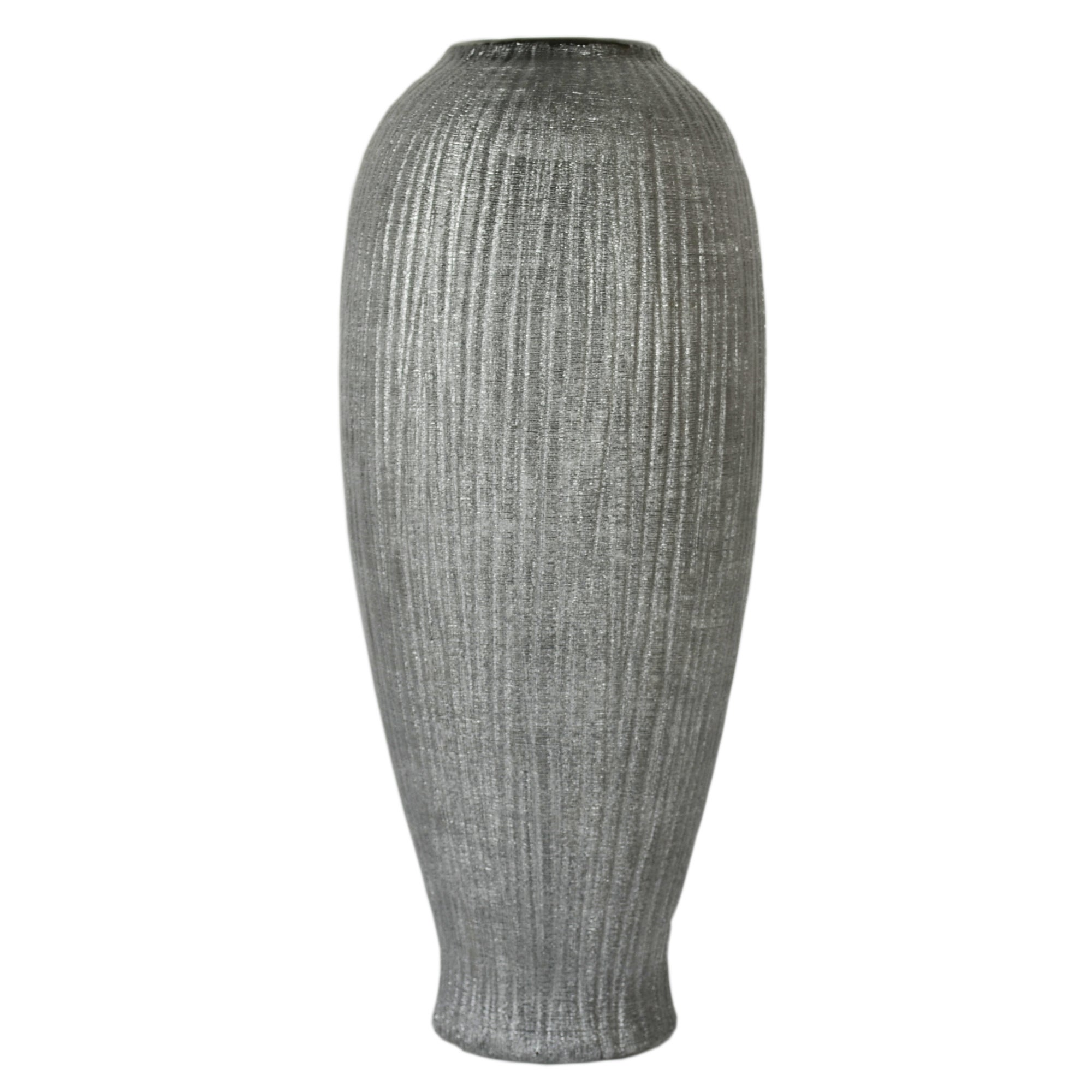 New Naturals Collection Ridged Vase
