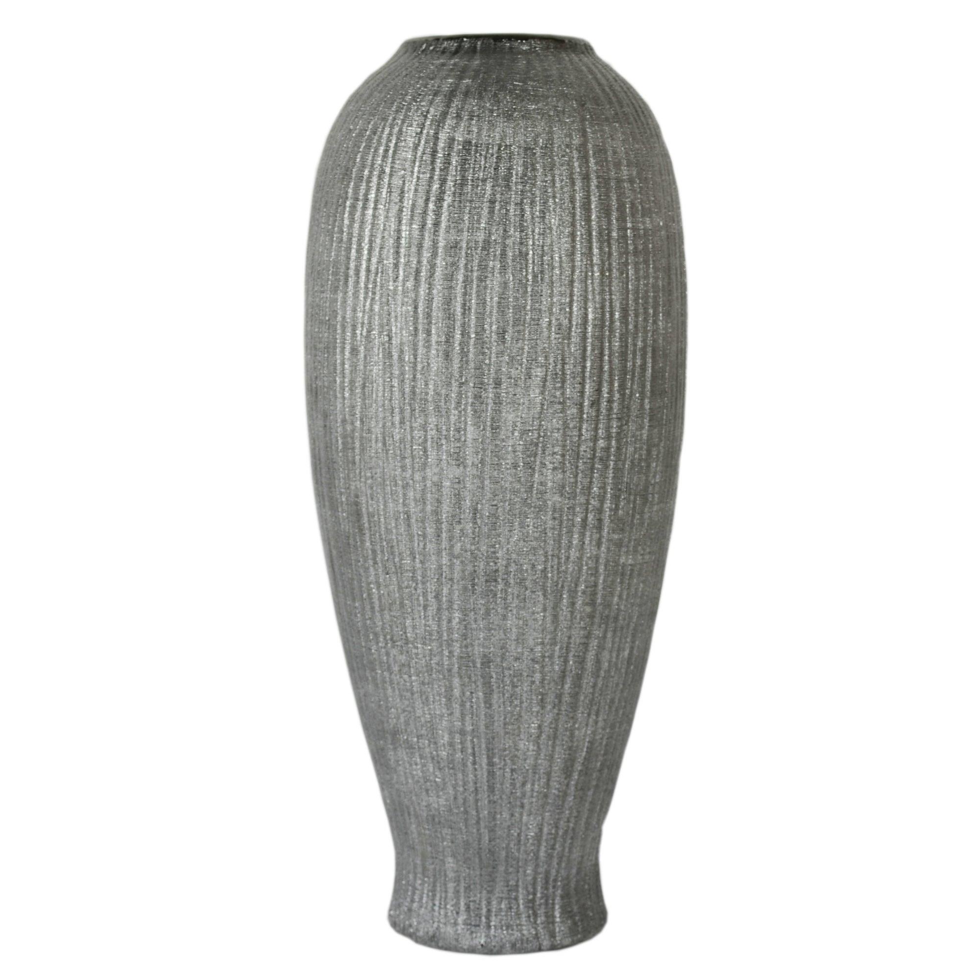 New Naturals Collection Ridged Vase