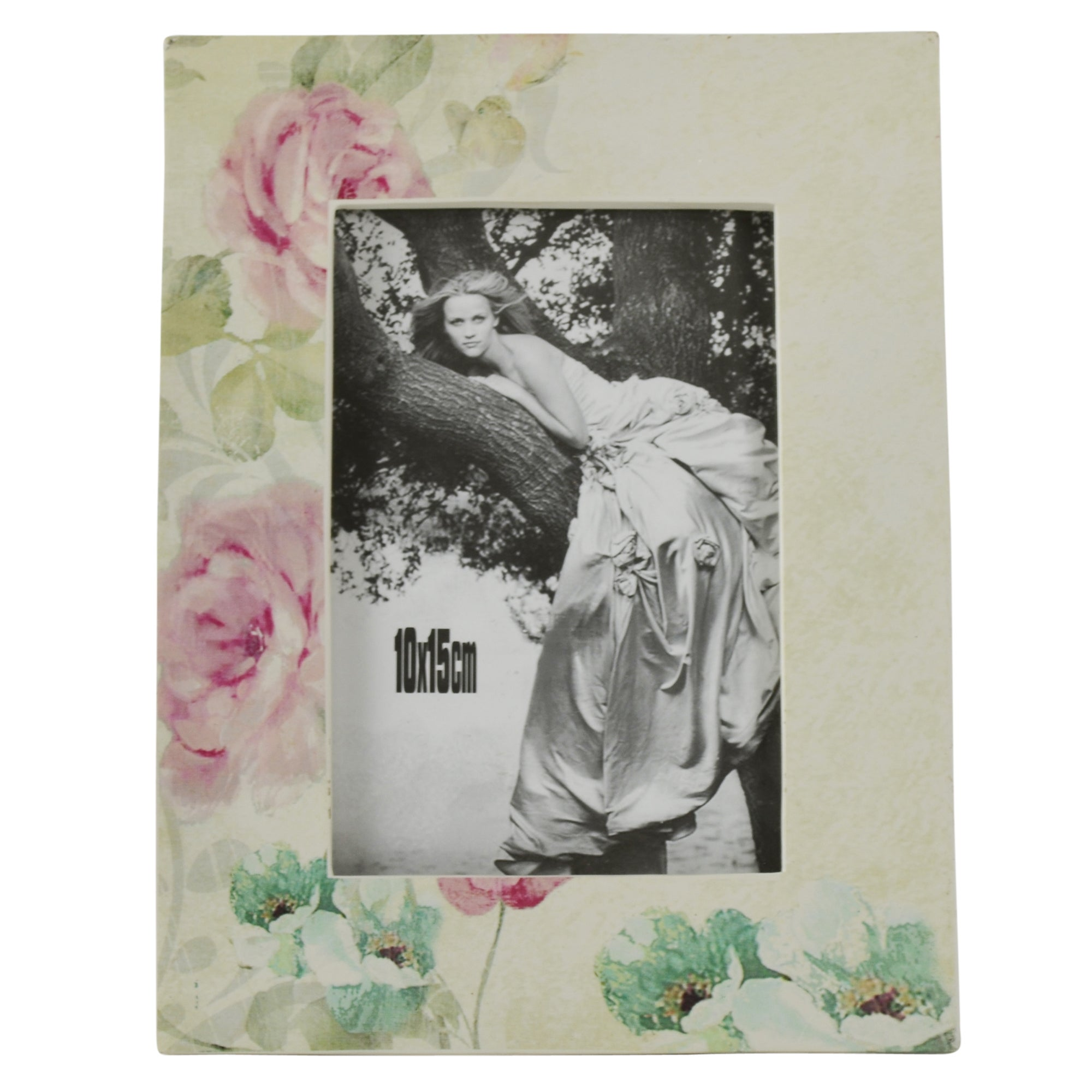 Room in Bloom Collection Rose Floral Photo Frame