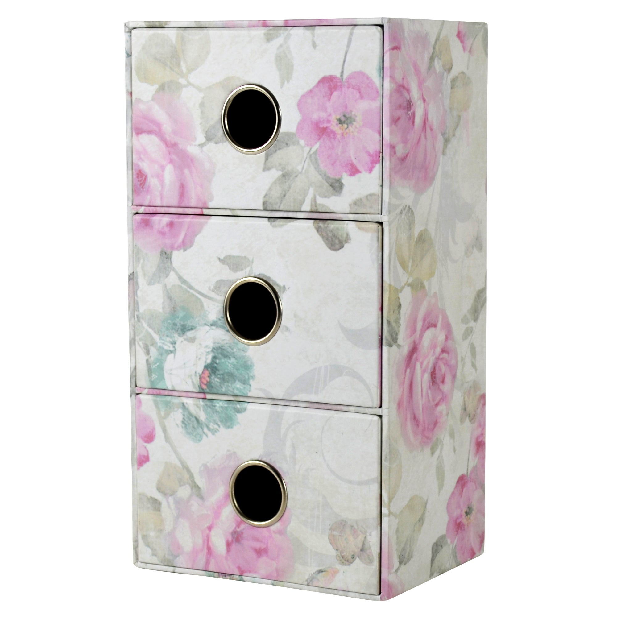 Room in Bloom Collection 3 Drawer Storage Box