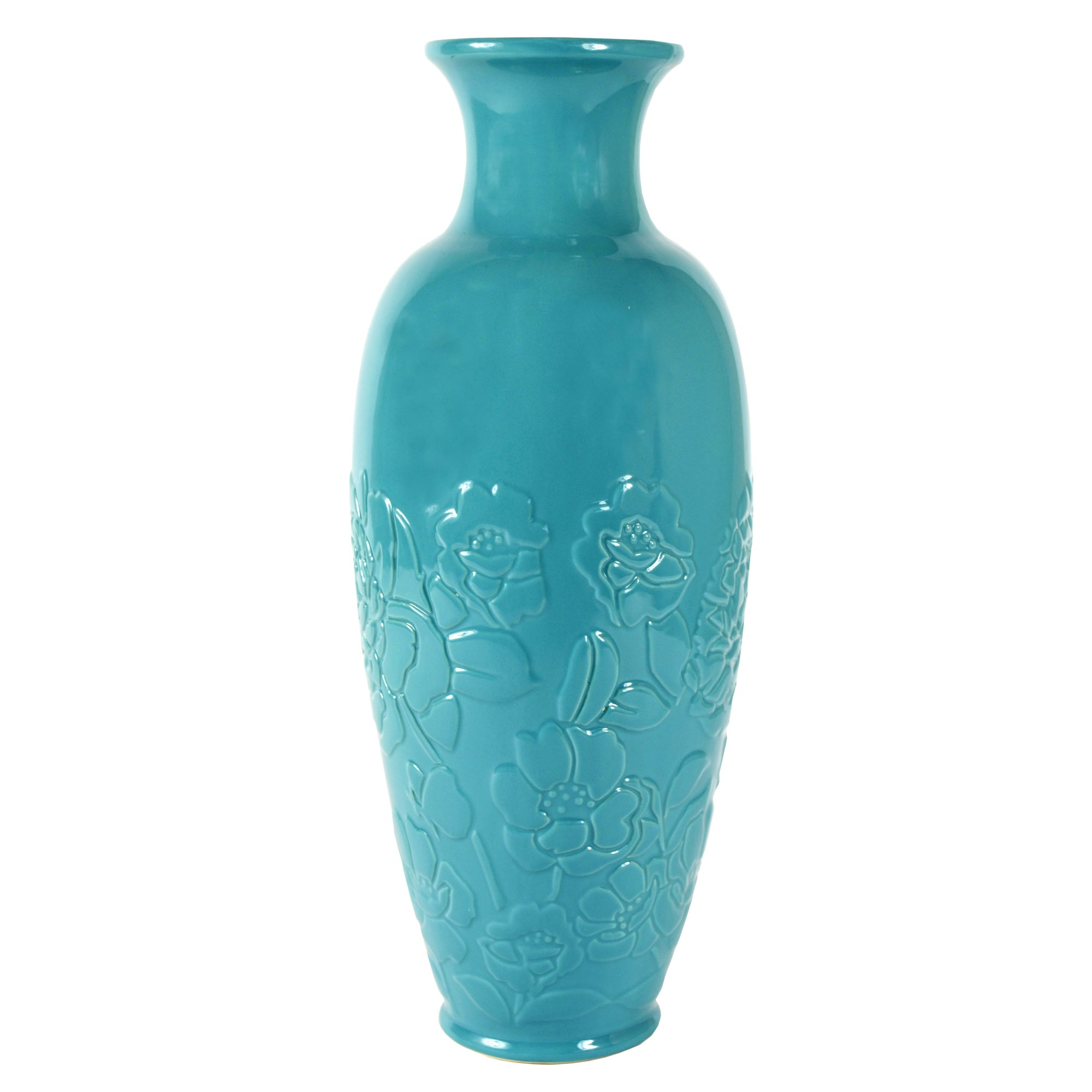 Room in Bloom Collection Embossed Vase