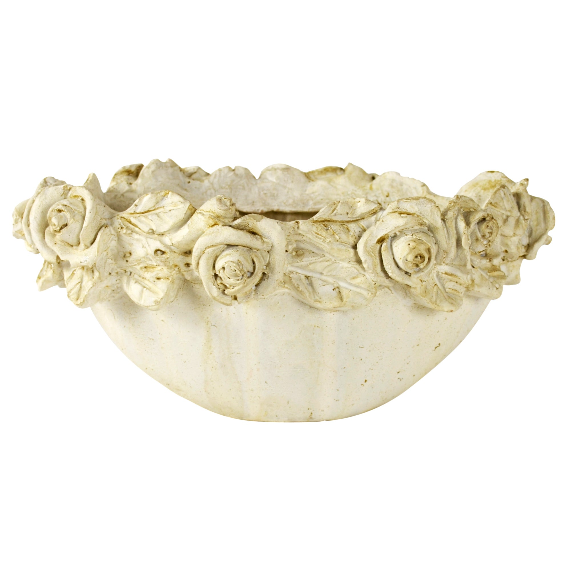 Room in Bloom Collection Rose Oval Bowl
