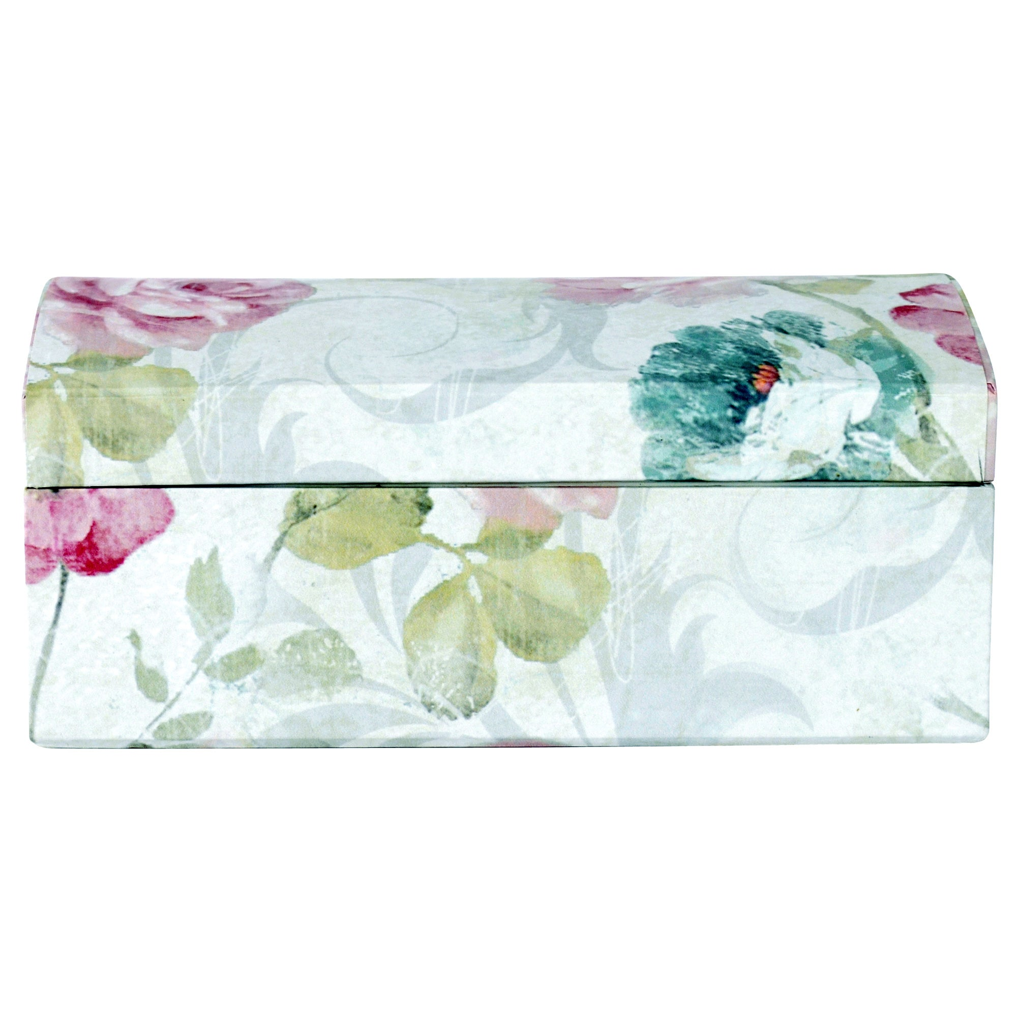 Room In Bloom Collection Floral Jewellery Box