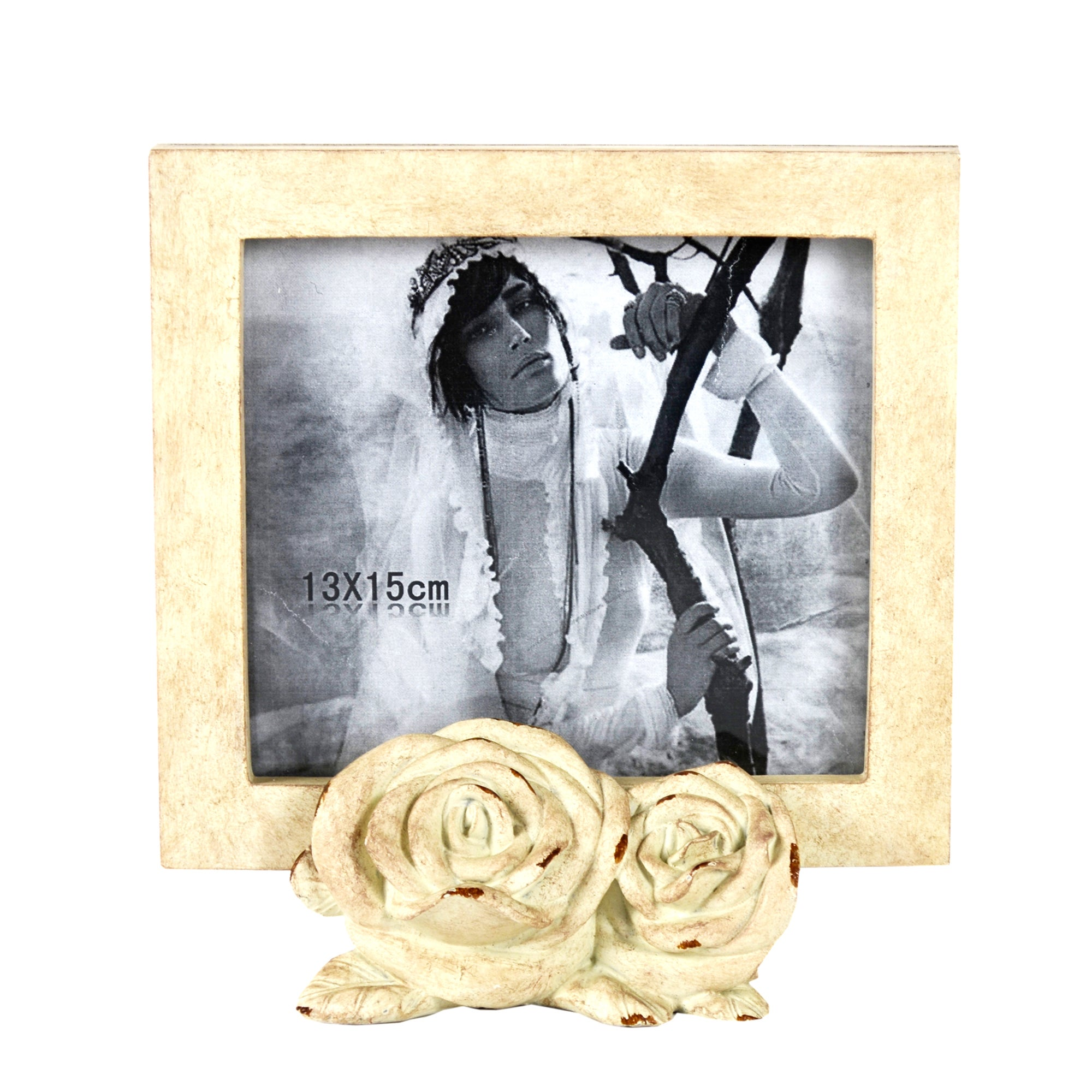 Room In Bloom Photo Frame With Roses