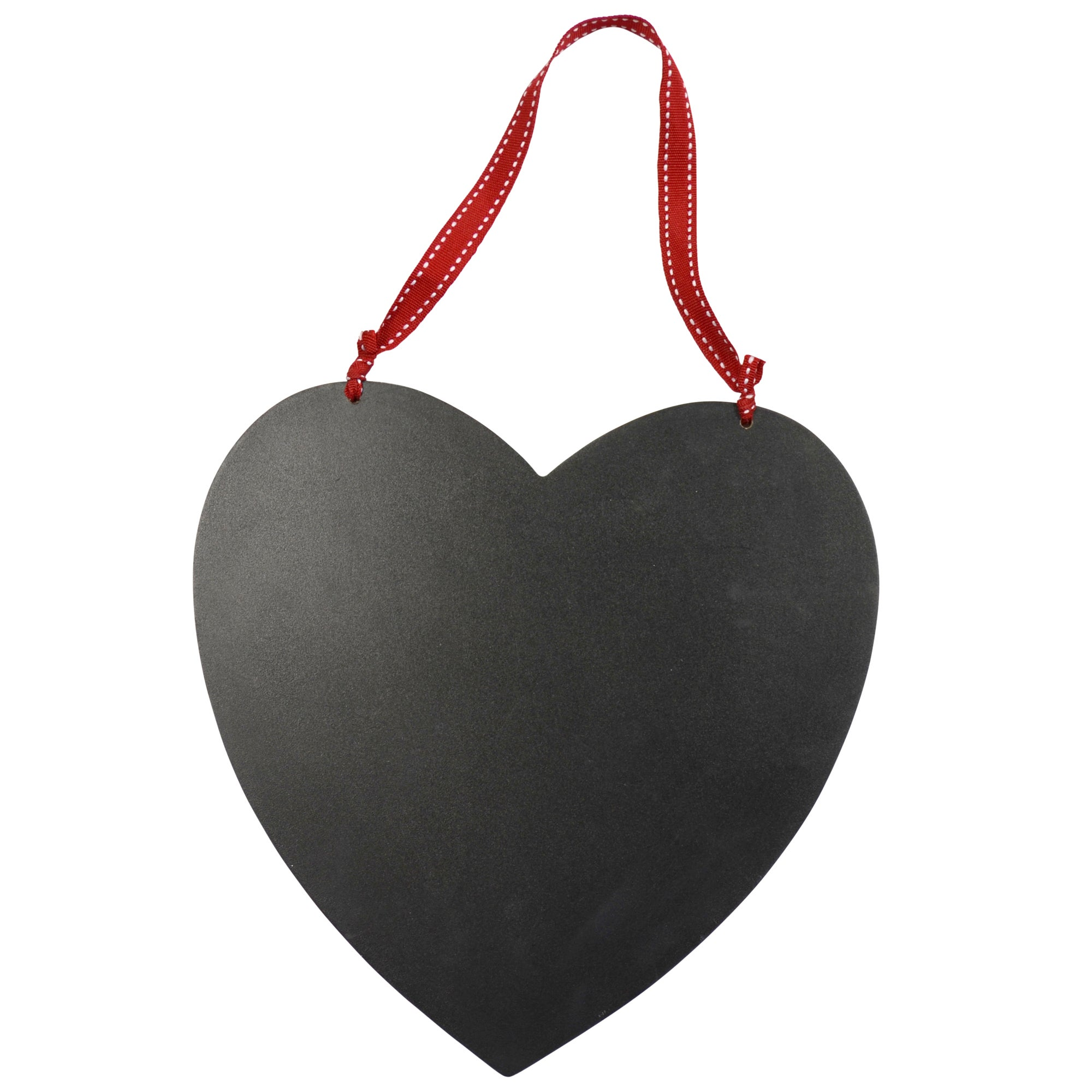 Ruby Collection Hanging Heart Shape Chalk Board