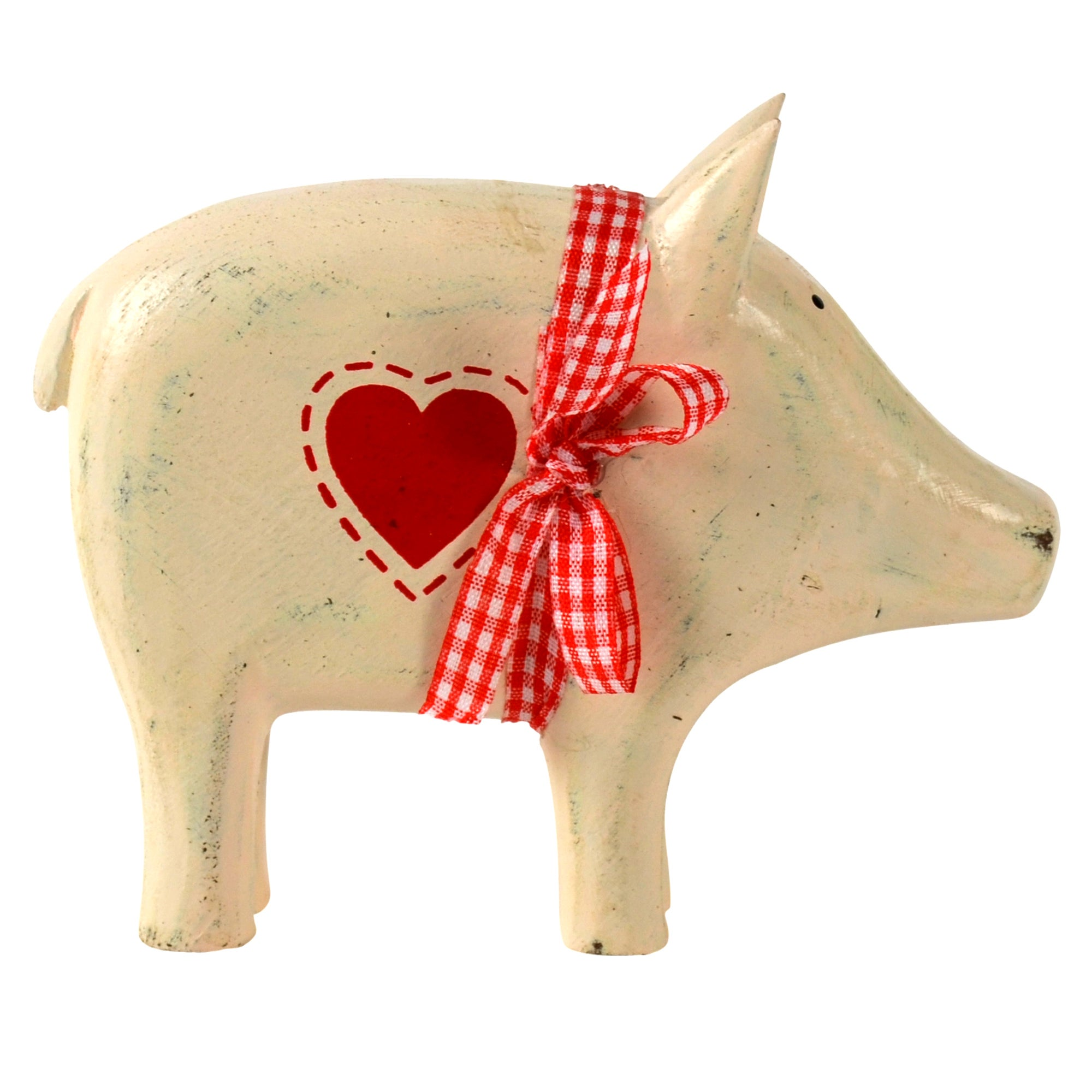Ruby Collection Wooden Pig