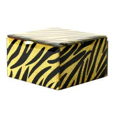 Sparkle Collection Animal Print Jewellery Box