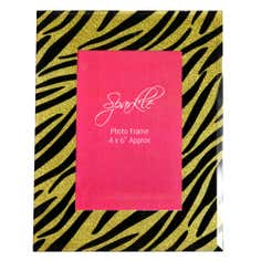 Sparkle Collection Animal Print Photo Frame