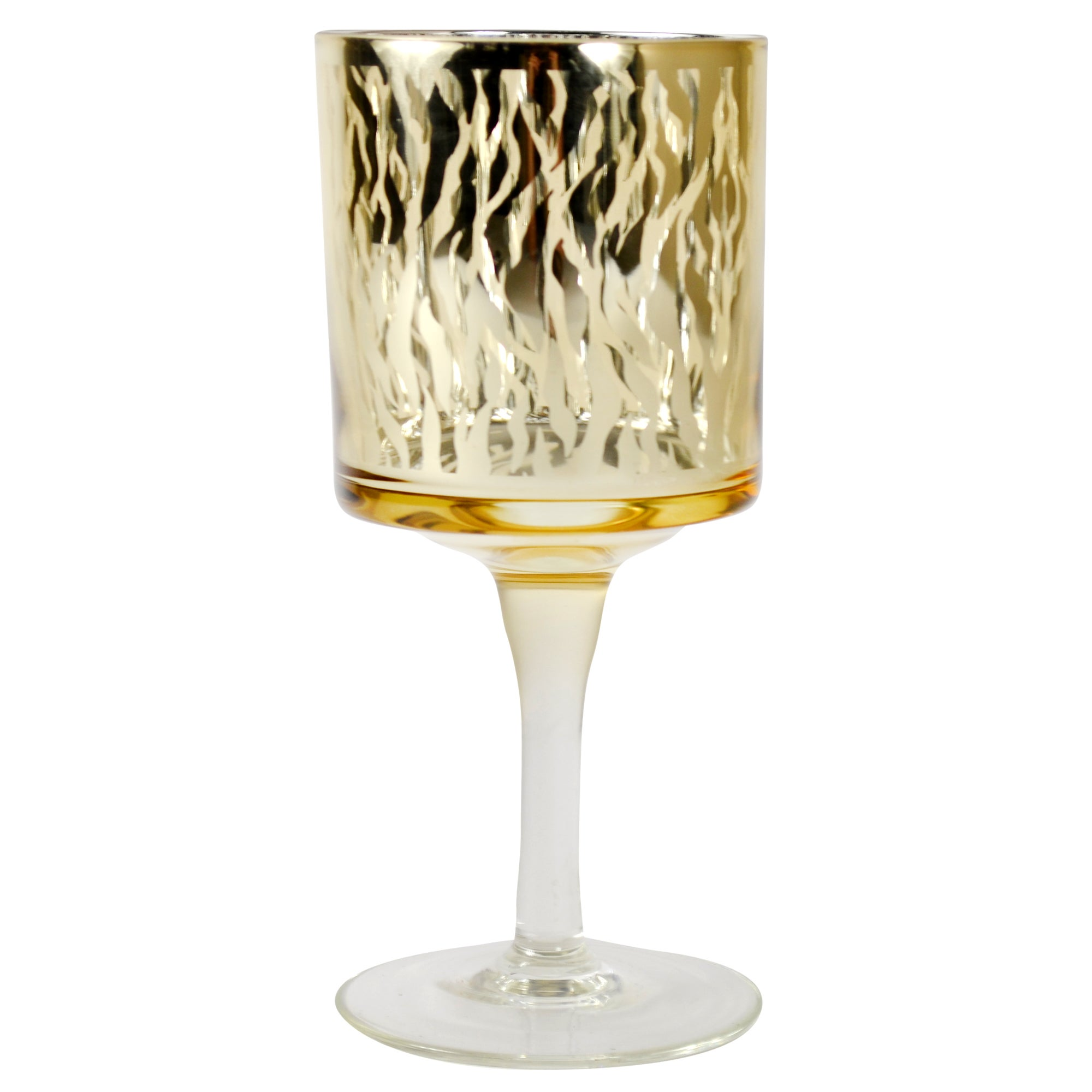 Sparkle Collection Animal Print Tea Light Holder