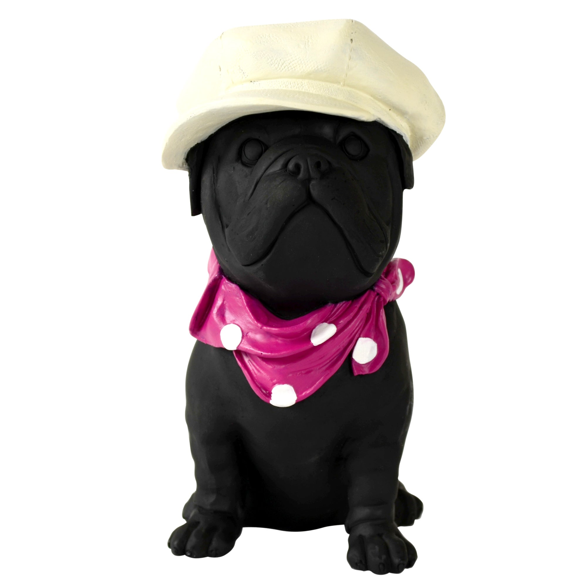 Sparkle Collection Dog with Hat and Scarf