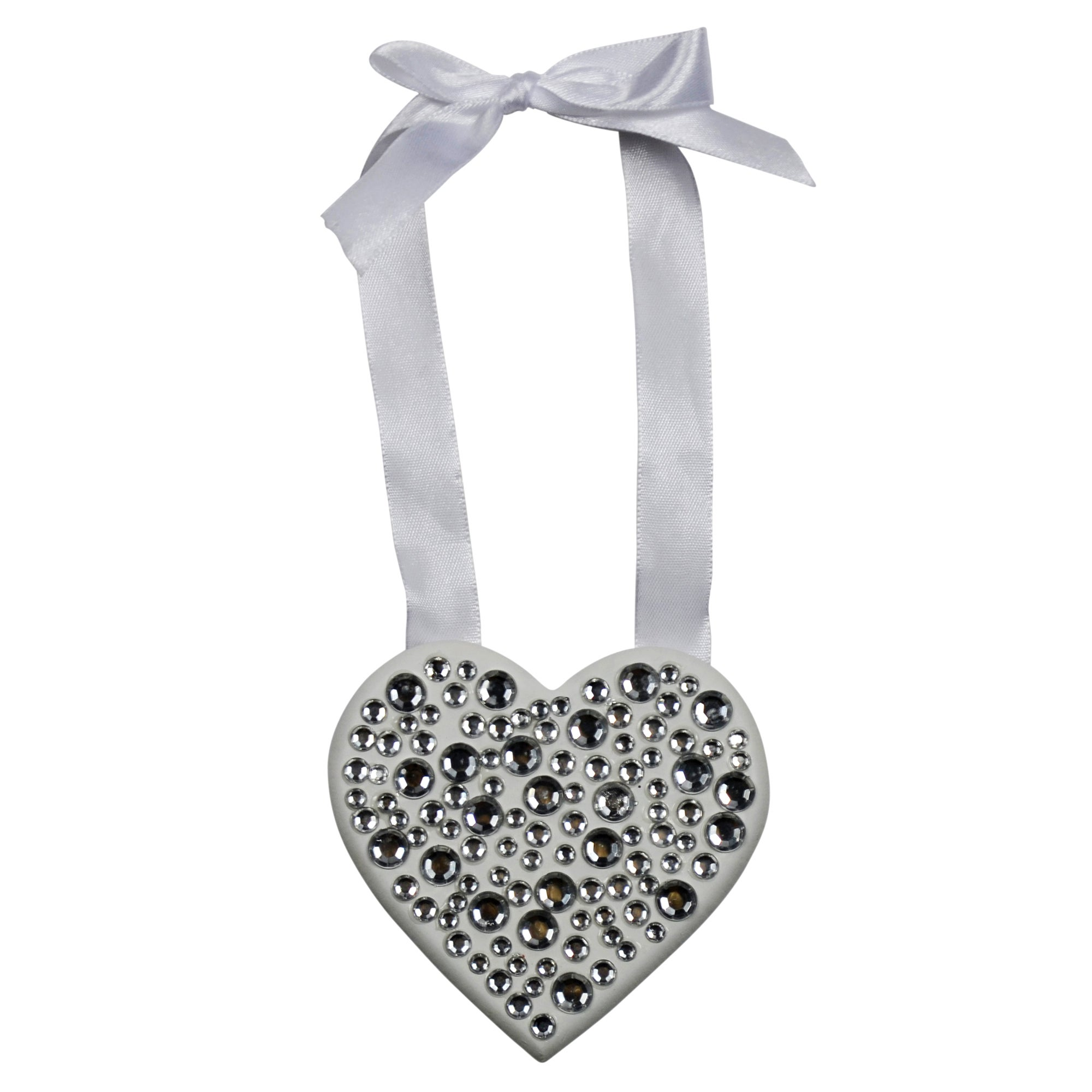 Sparkle Collection Hanging Diamante Heart