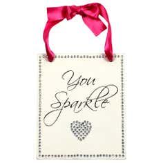 Sparkle Collection 'You Sparkle' Hanging Plaque