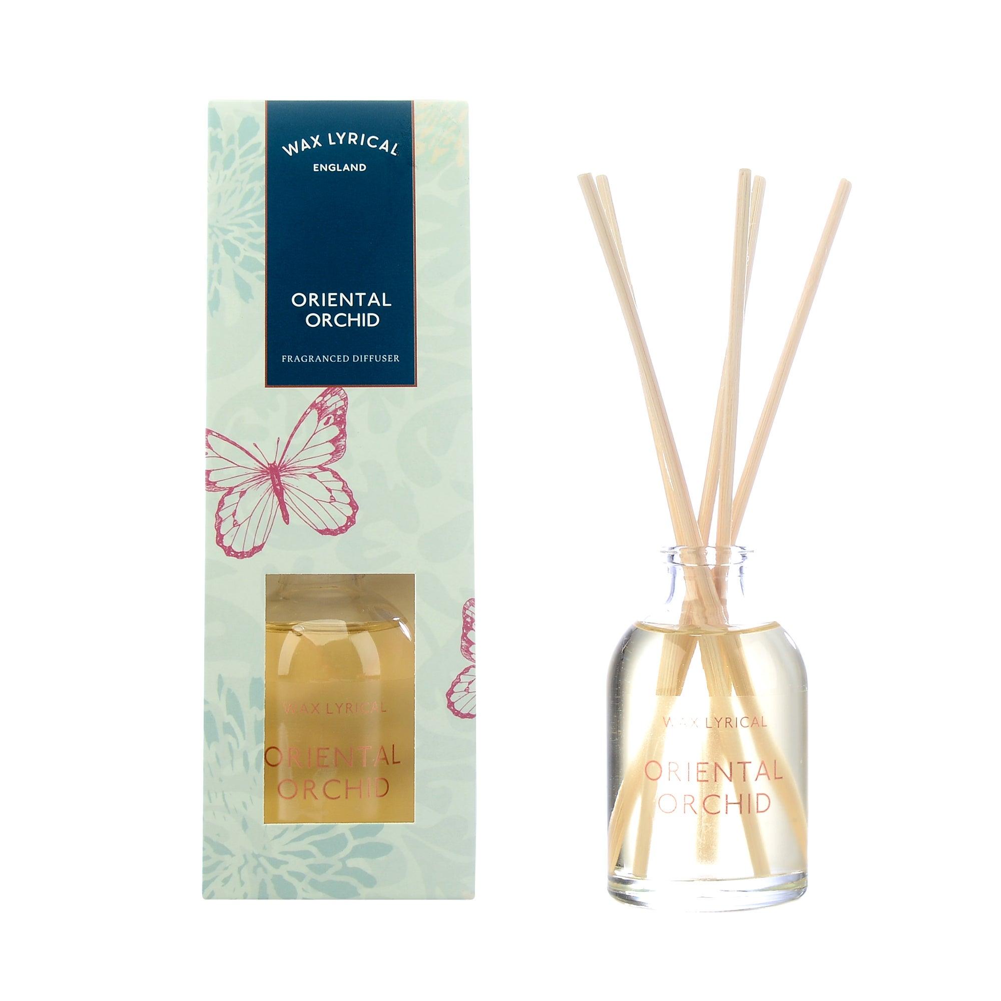 Wax Lyrical Wild Orchid 50ml Reed Diffuser