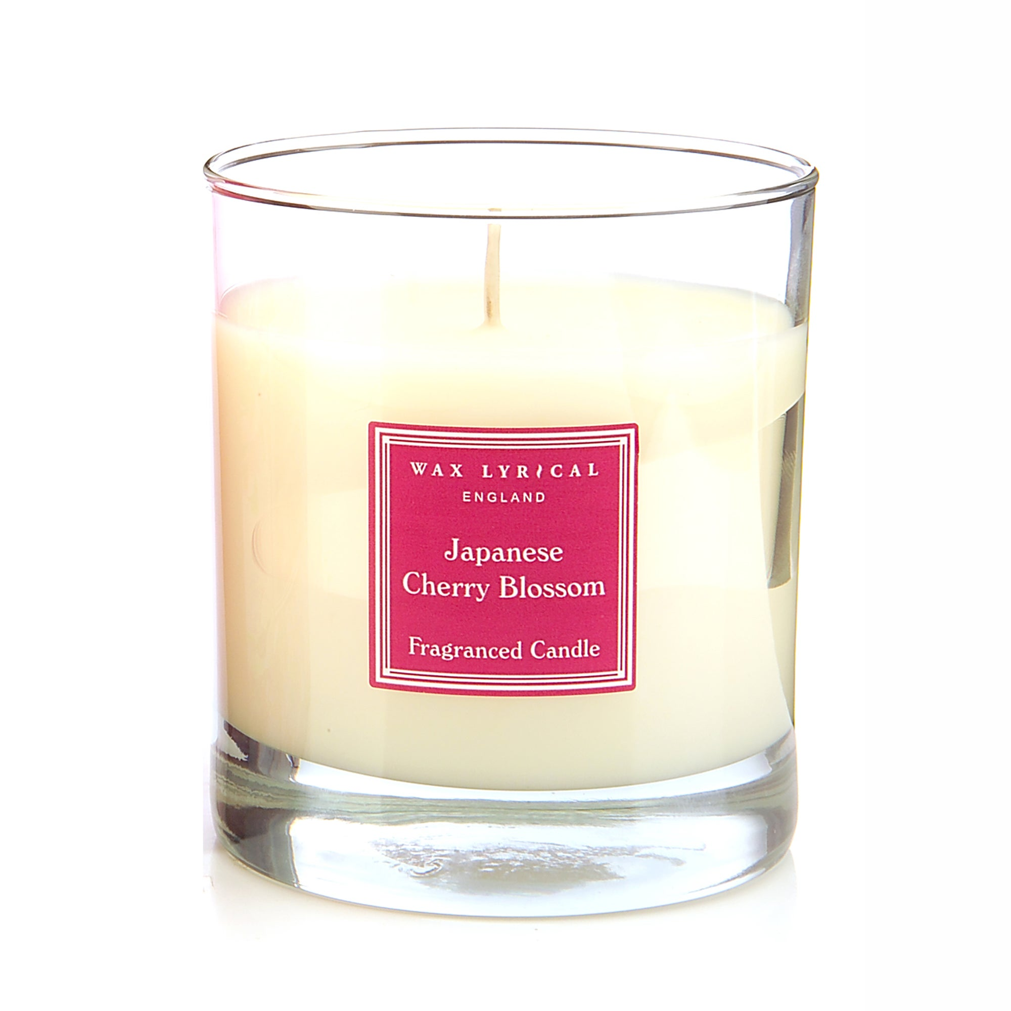 Wax Lyrical Japanese Cherry Blossom Wax Filled Glass Candle