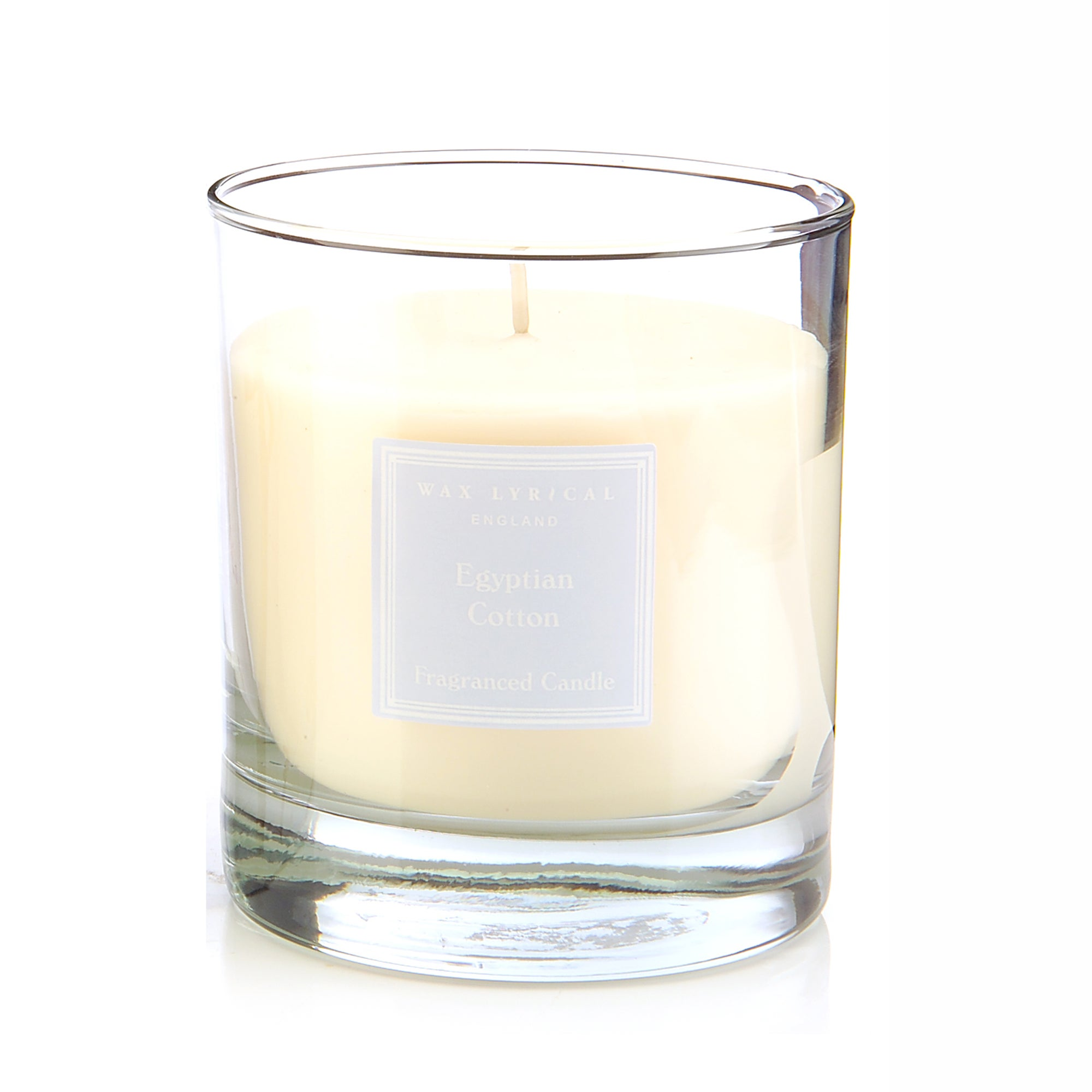 Wax Lyrical Egyptian Cotton Wax Filled Glass Candle