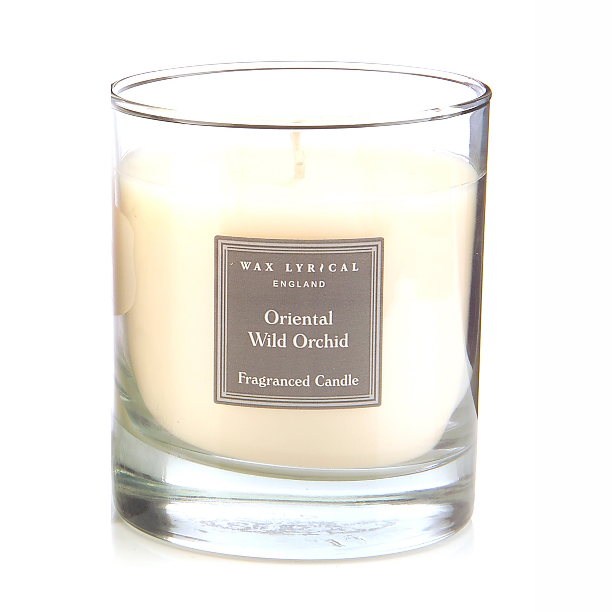 Wax Lyrical Wild Orchid Wax Filled Glass Candle