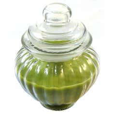 Home Fragrance Cotton and Water Lily Wax Filled Jar