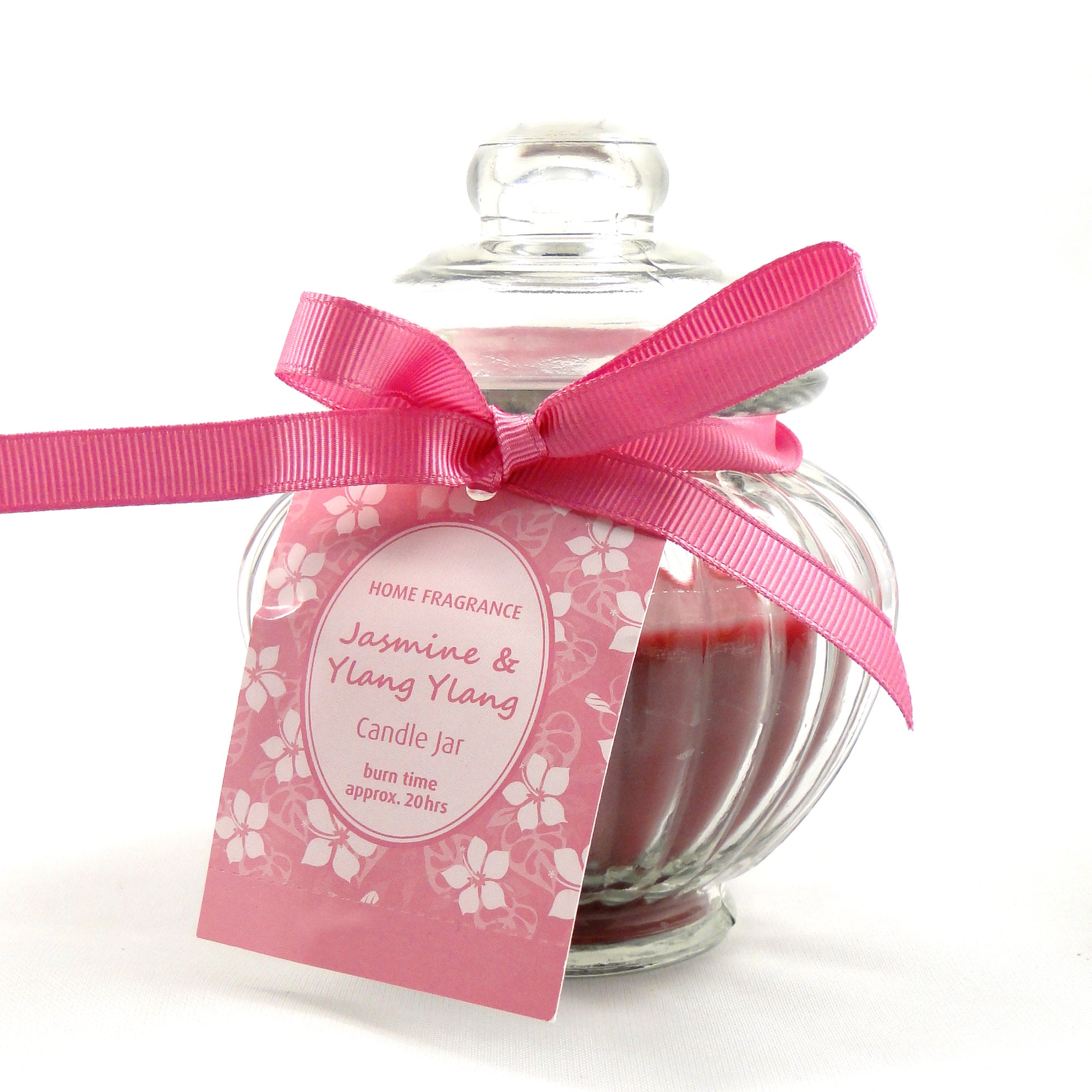Home Fragrance Jasmine and Ylang Ylang Wax Filled Jar