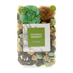Cotton and Water Lily Potpourri