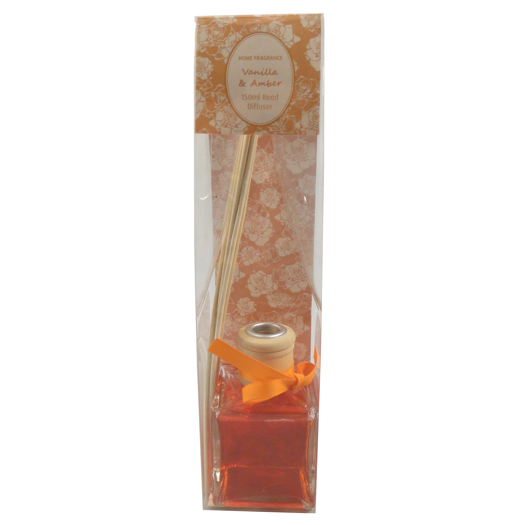 Home Fragrance Vanilla and Amber 150ml Reed Diffuser