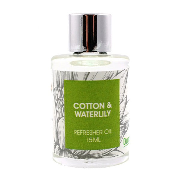 Cotton and Water Lily 15ml Refresher Oil