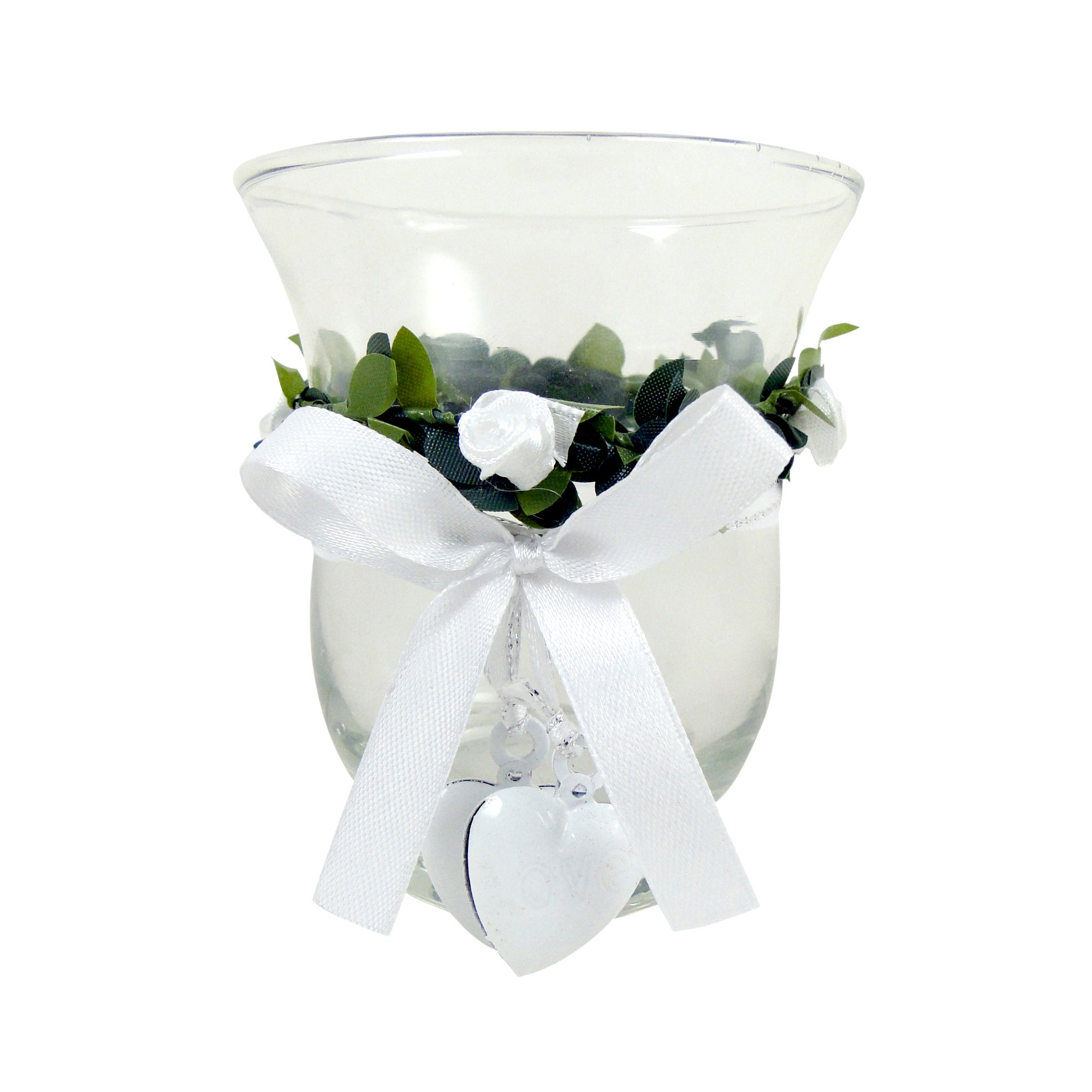 Wedding Collection Glass Candle Holder
