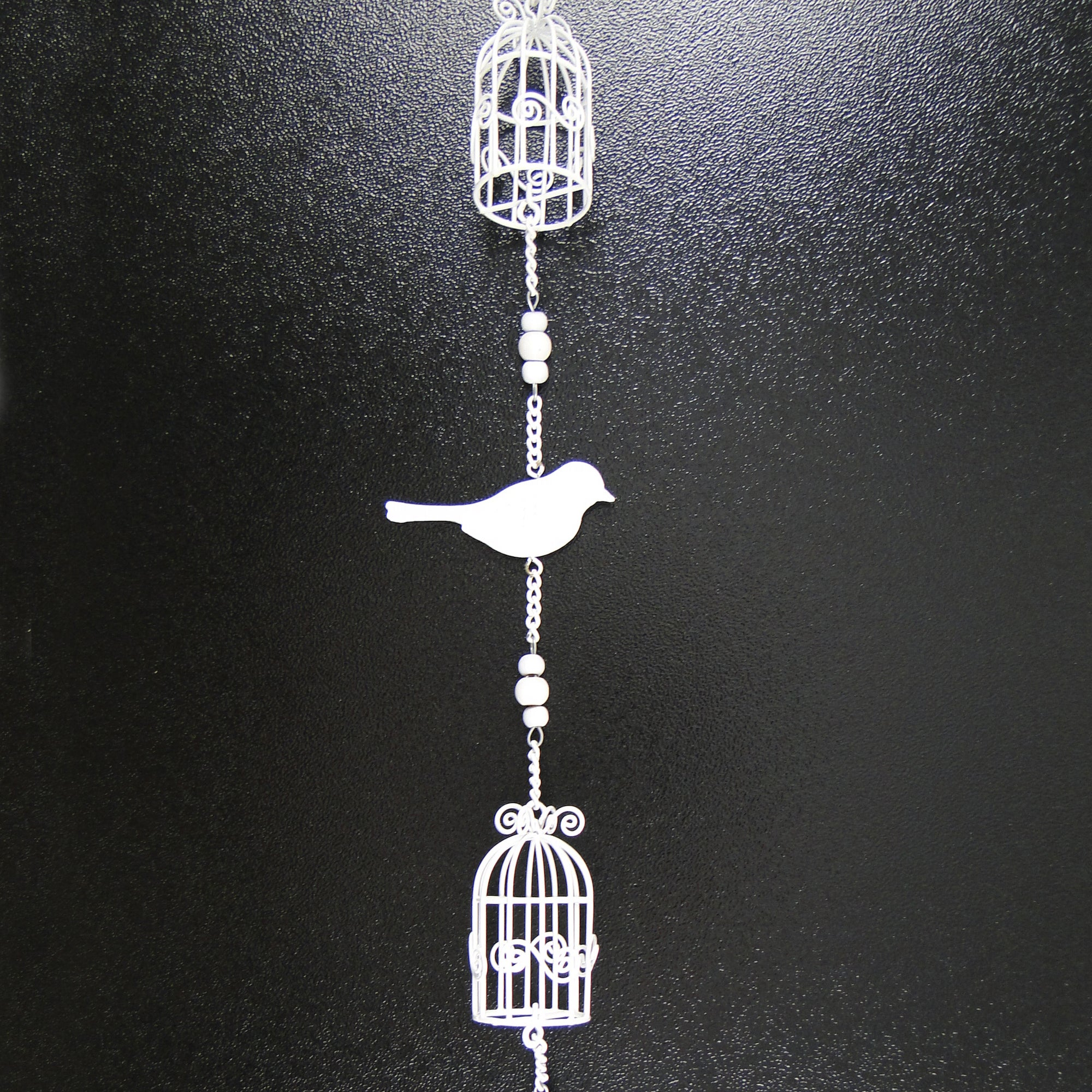 Wedding Collection Metal Bird and Birdcage Garland