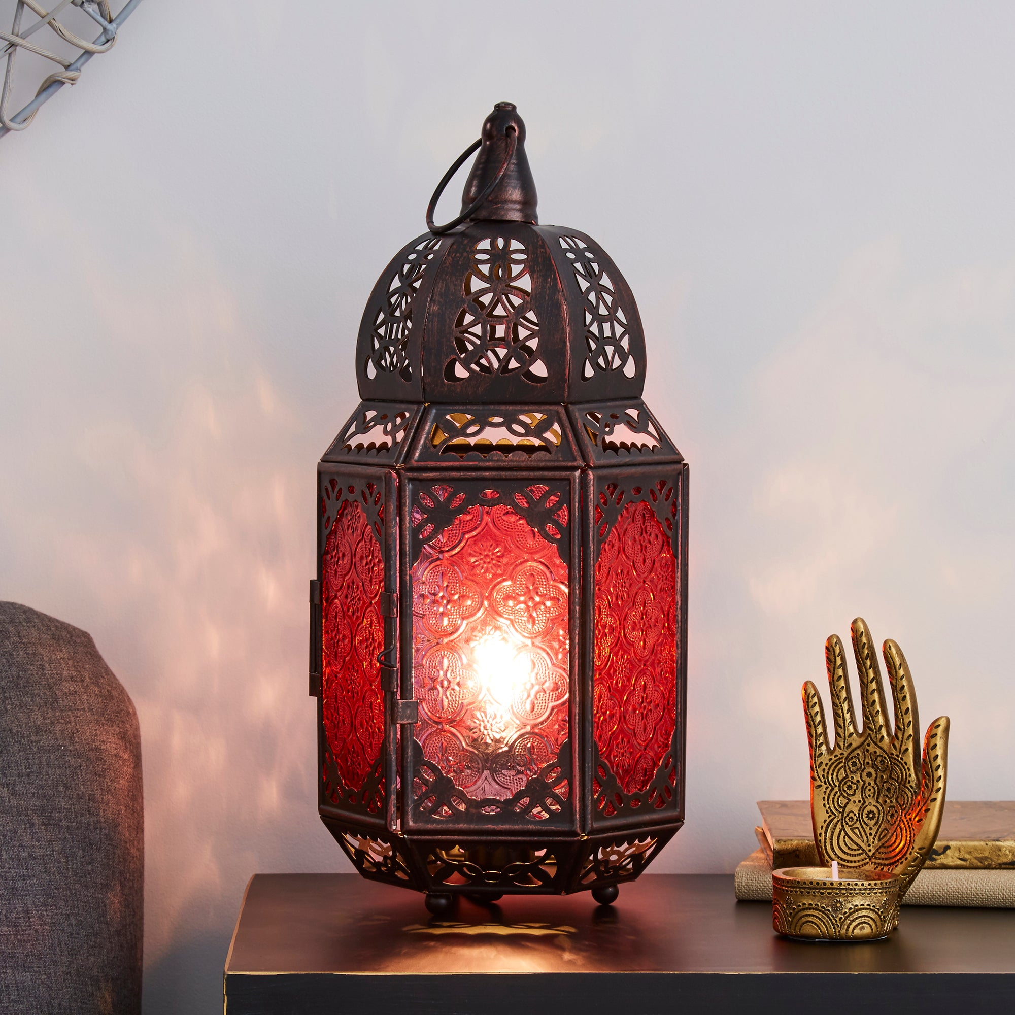 Marrakech Lantern Table Lamp