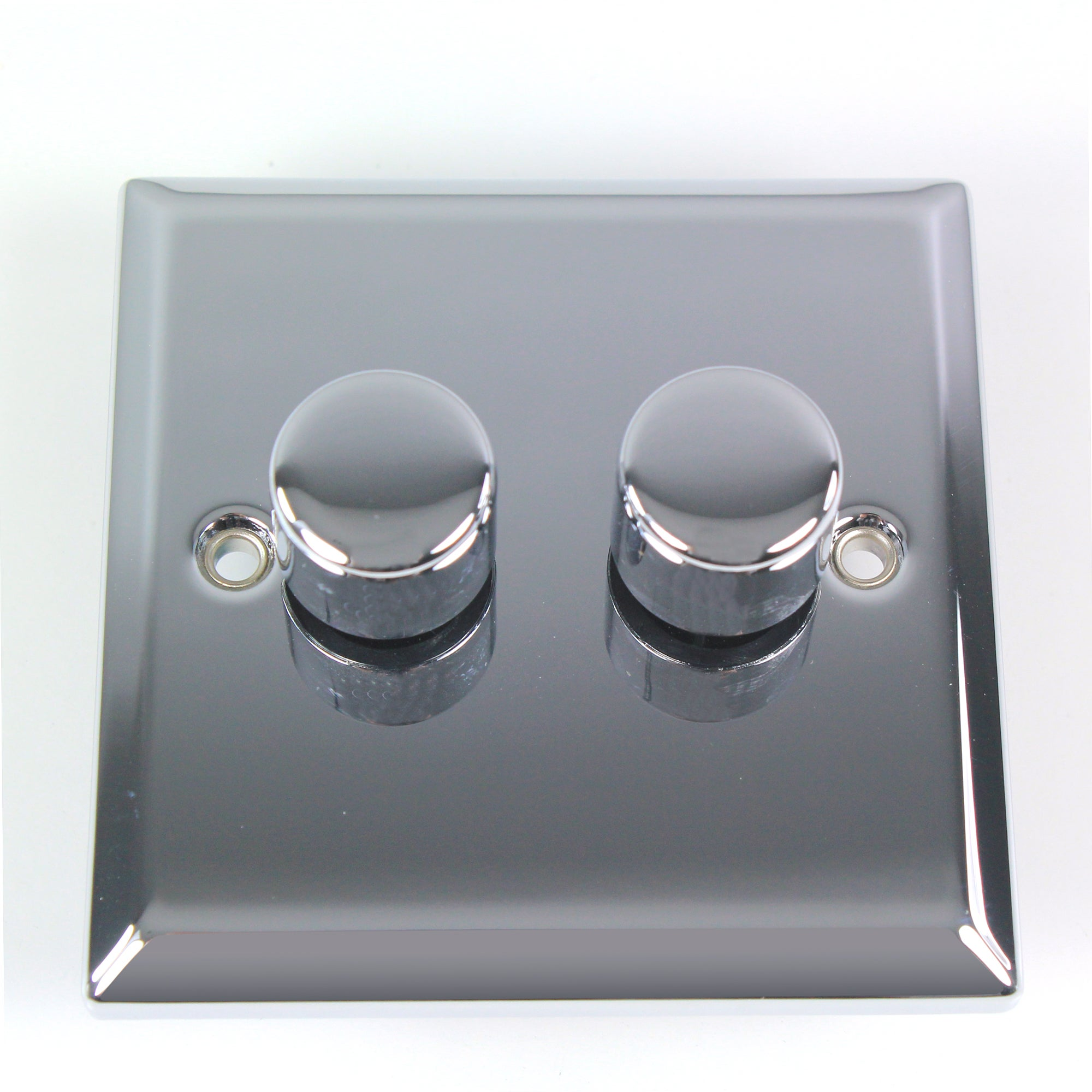 2 Gang 2 Way Chrome Dimmer Switch