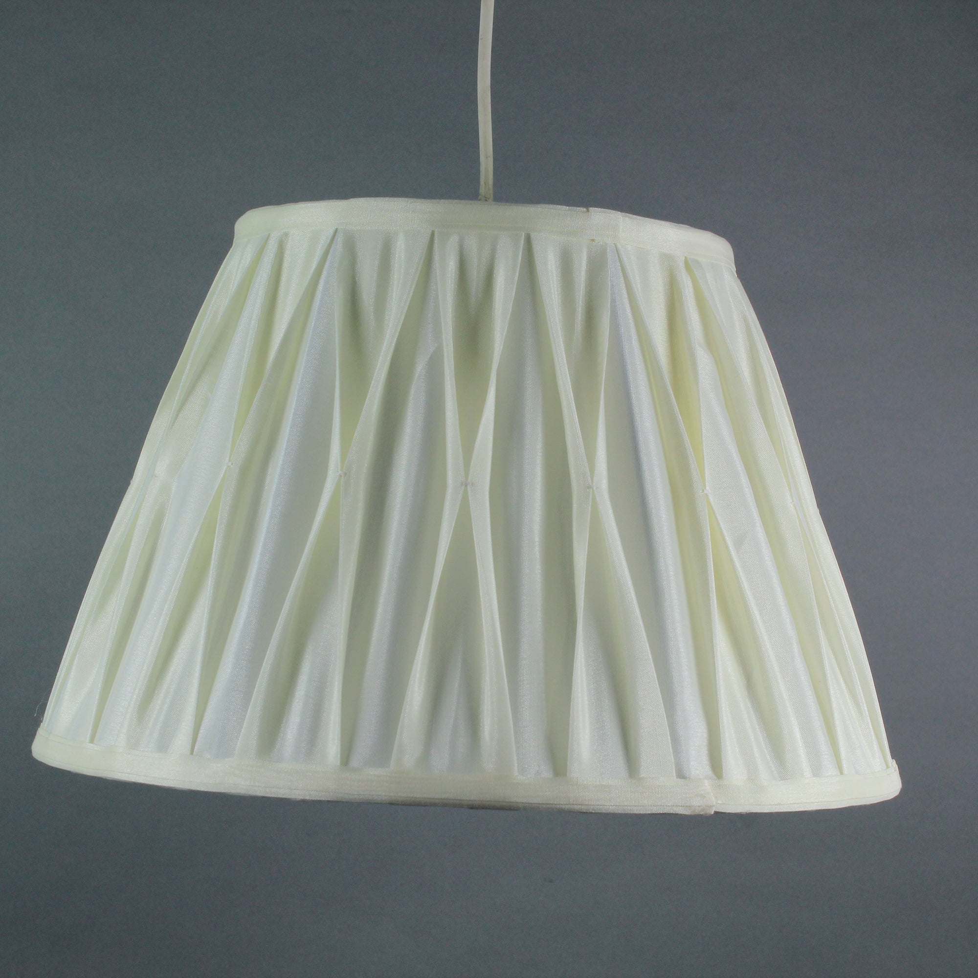 Dorma Abbey Pinch Pleat Pendant Shade