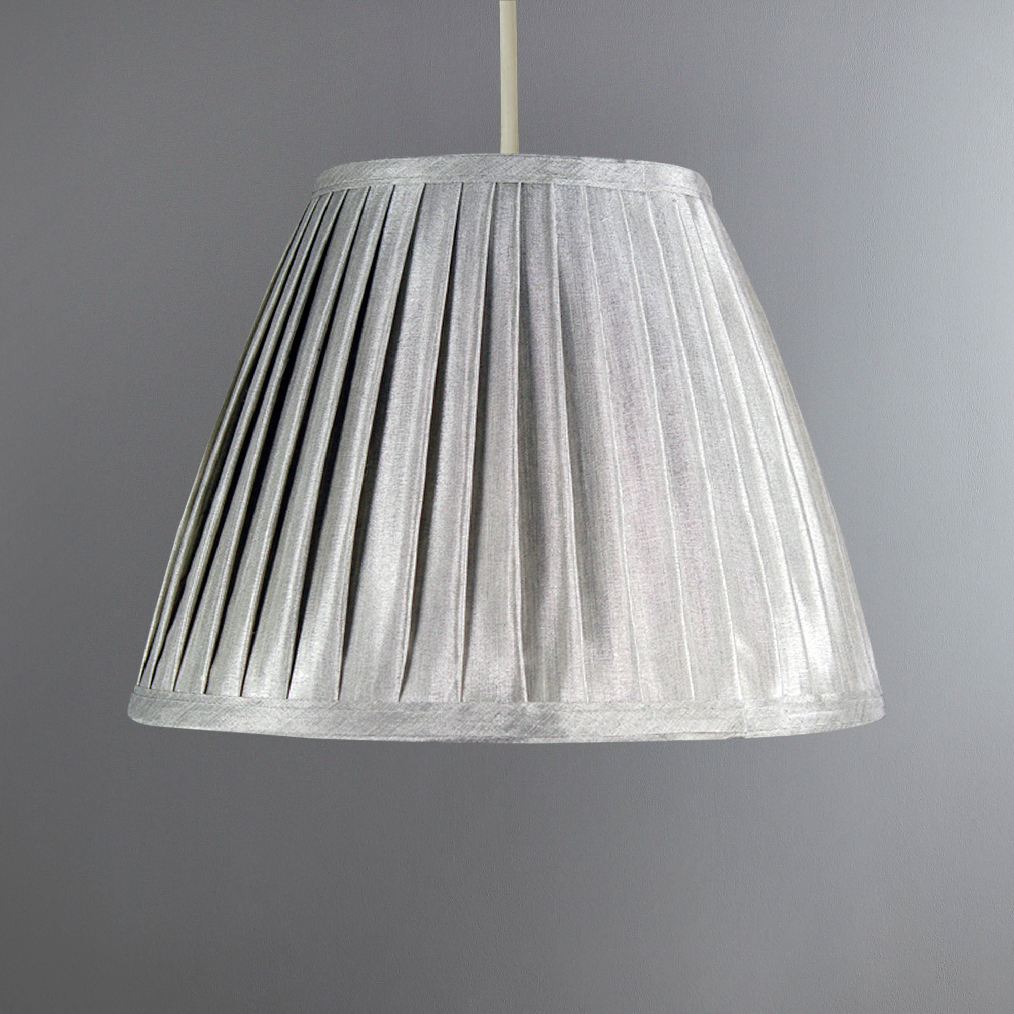 Dorma Clarence Soft Pleat Pendant Shade