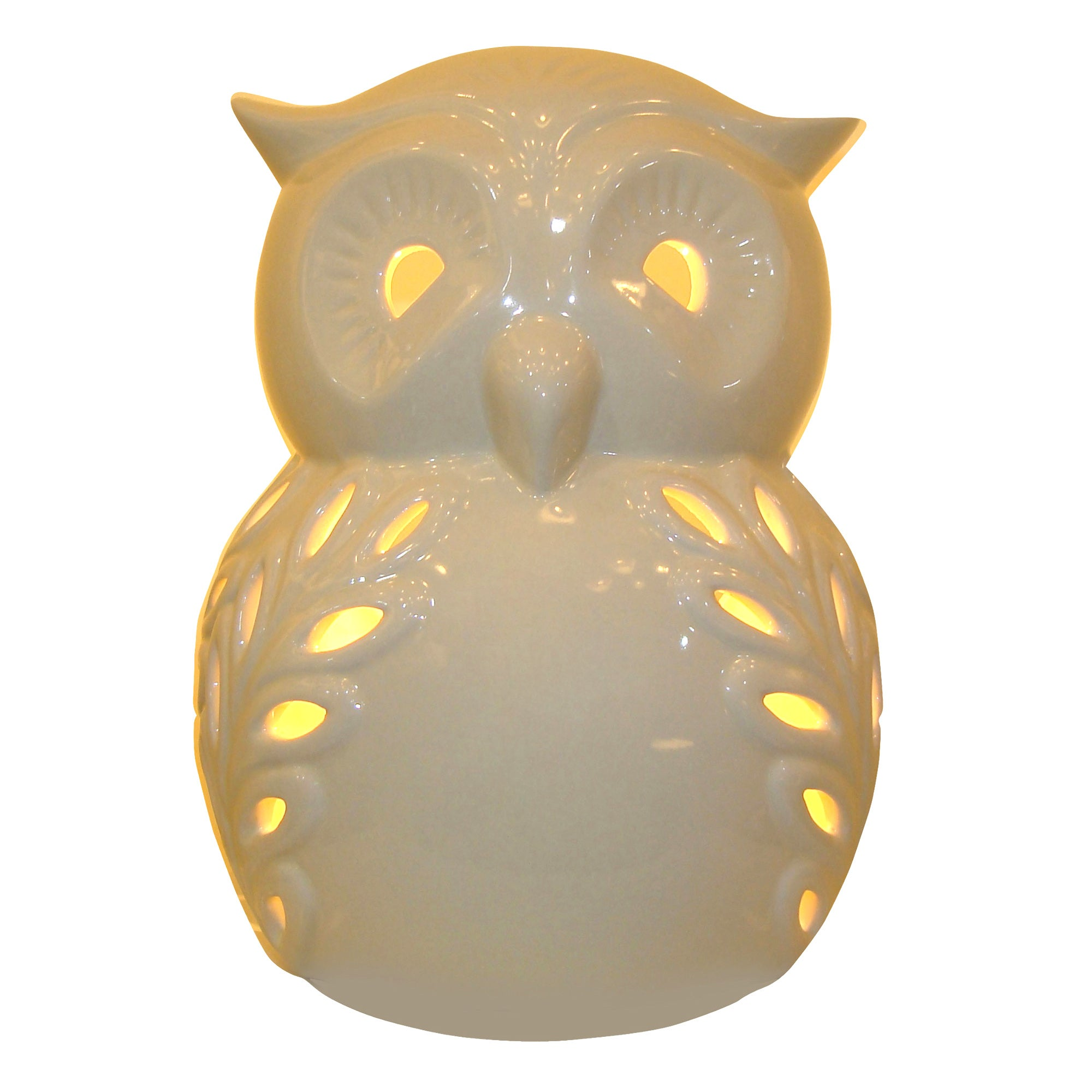 Cut Out Owl Table Lamp