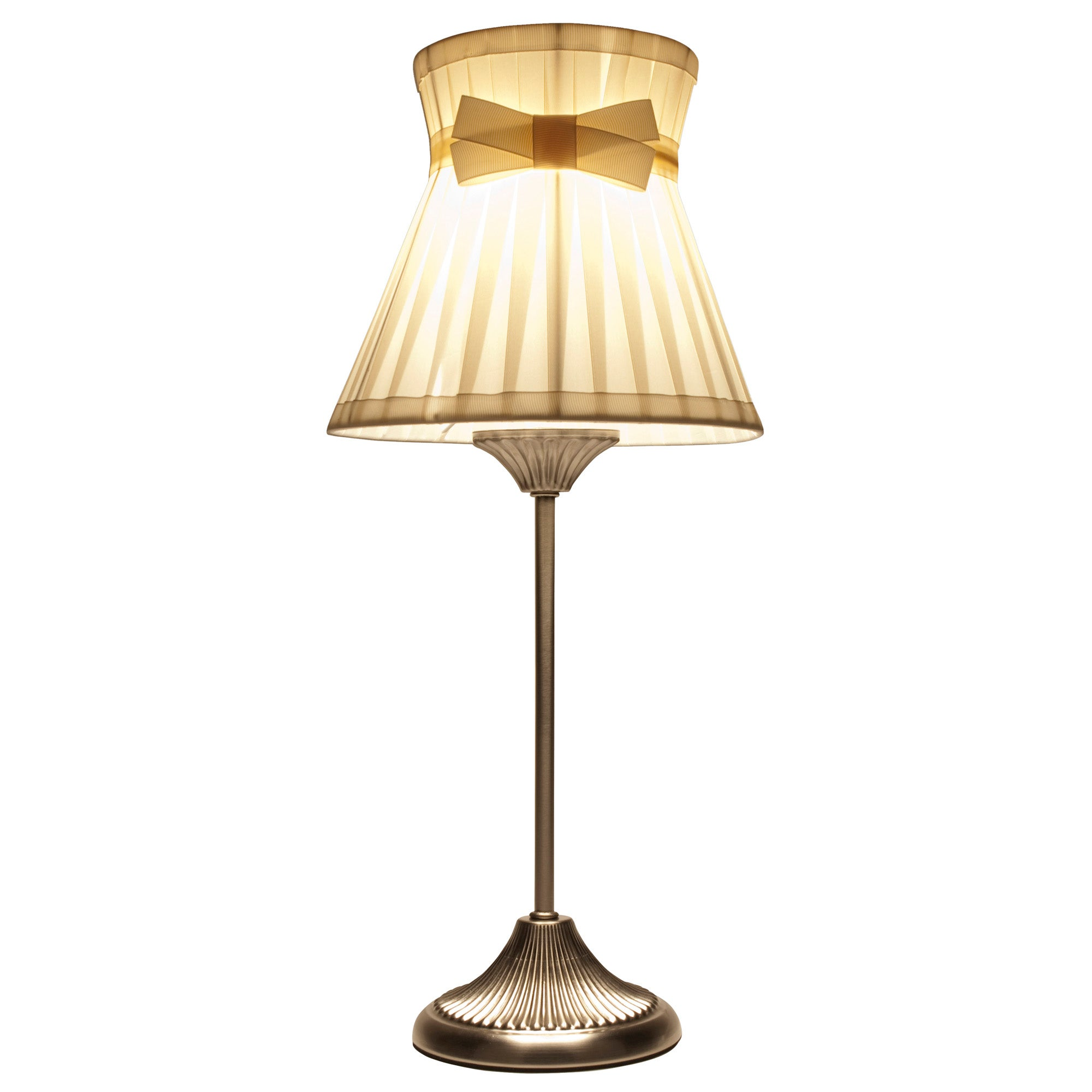 Hilda Waist Pleat Table Lamp