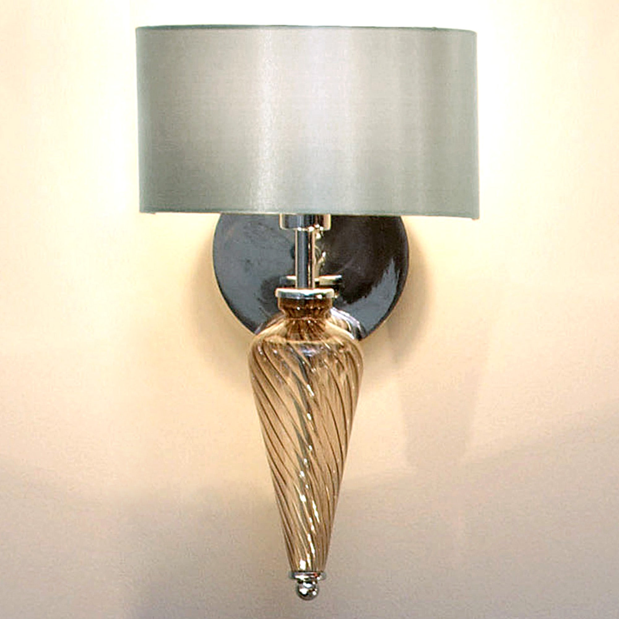 Hotel Glass Wall Light Dunelm