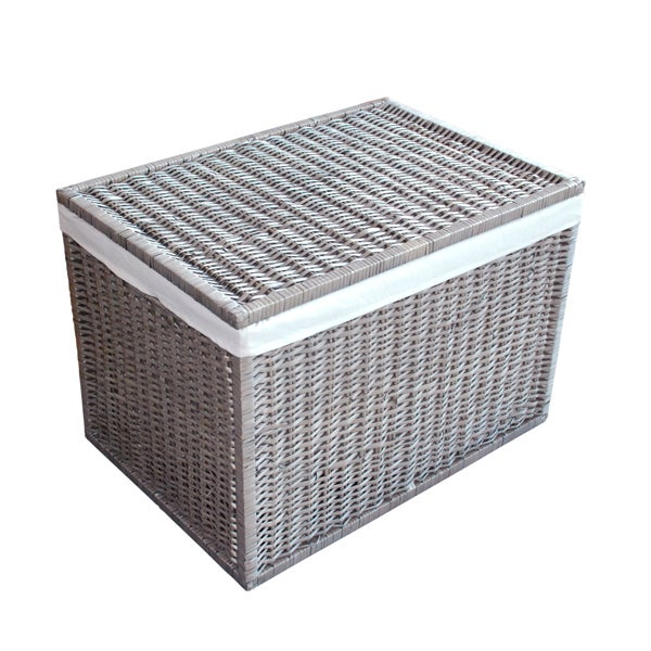 Grey Split Willow Collection Trunk