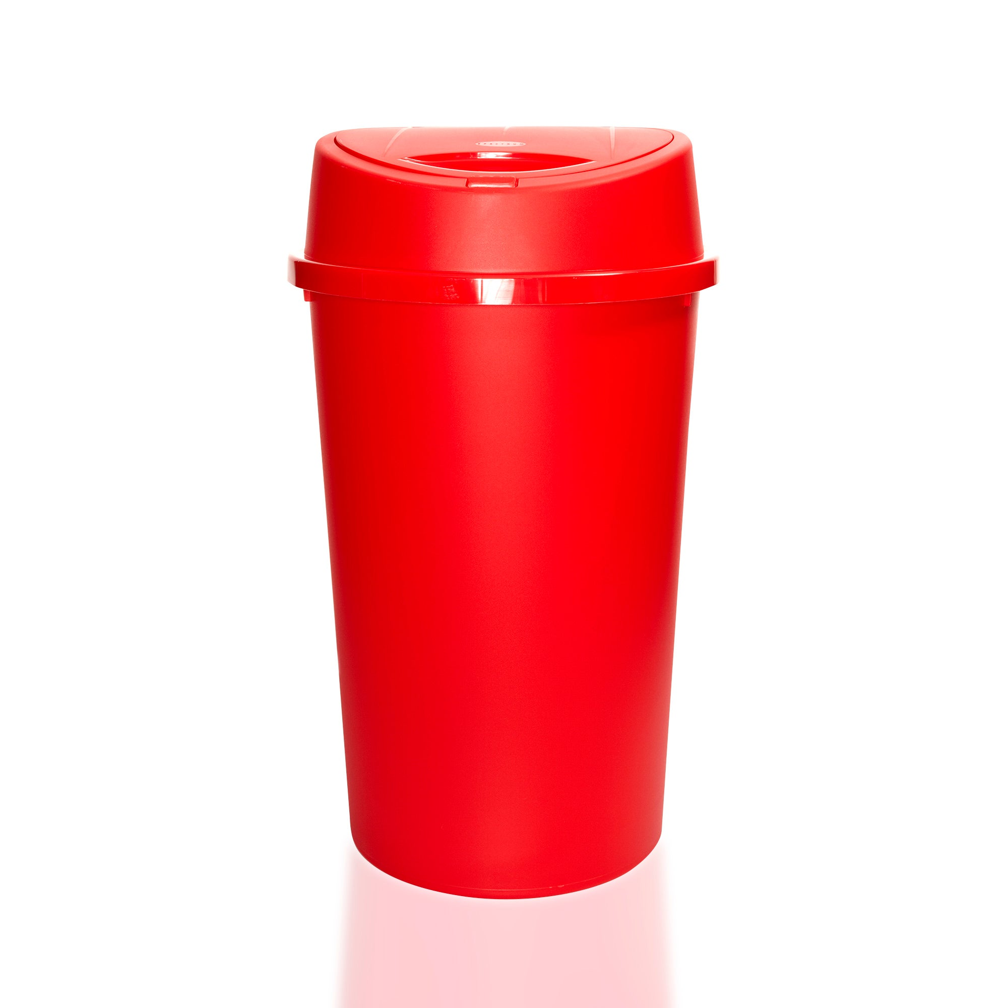 Red Spectrum Collection 45 Litre Touch Bin