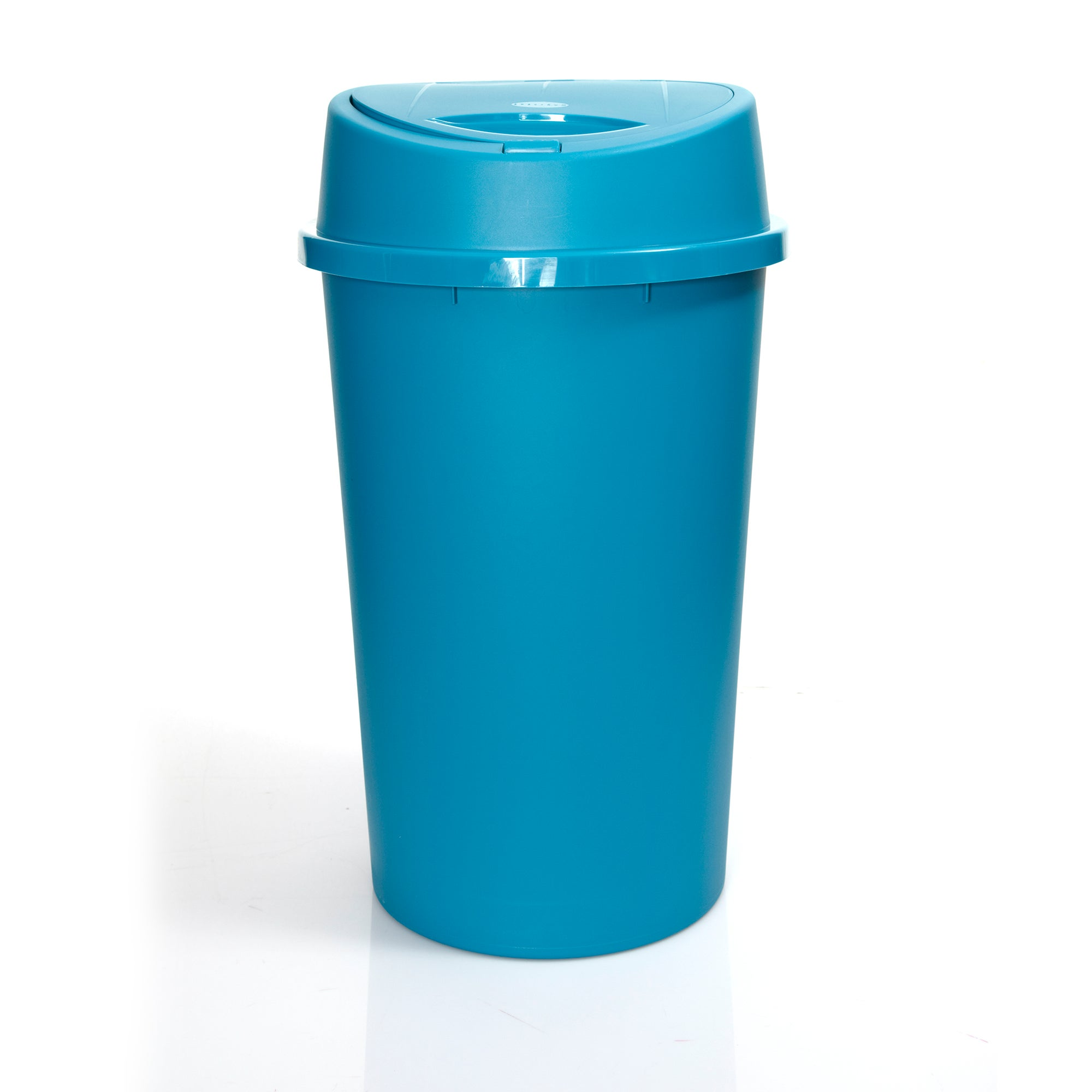 Teal Spectrum Collection 45 Litre Touch Bin