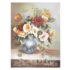 Floral Still Life Canvas