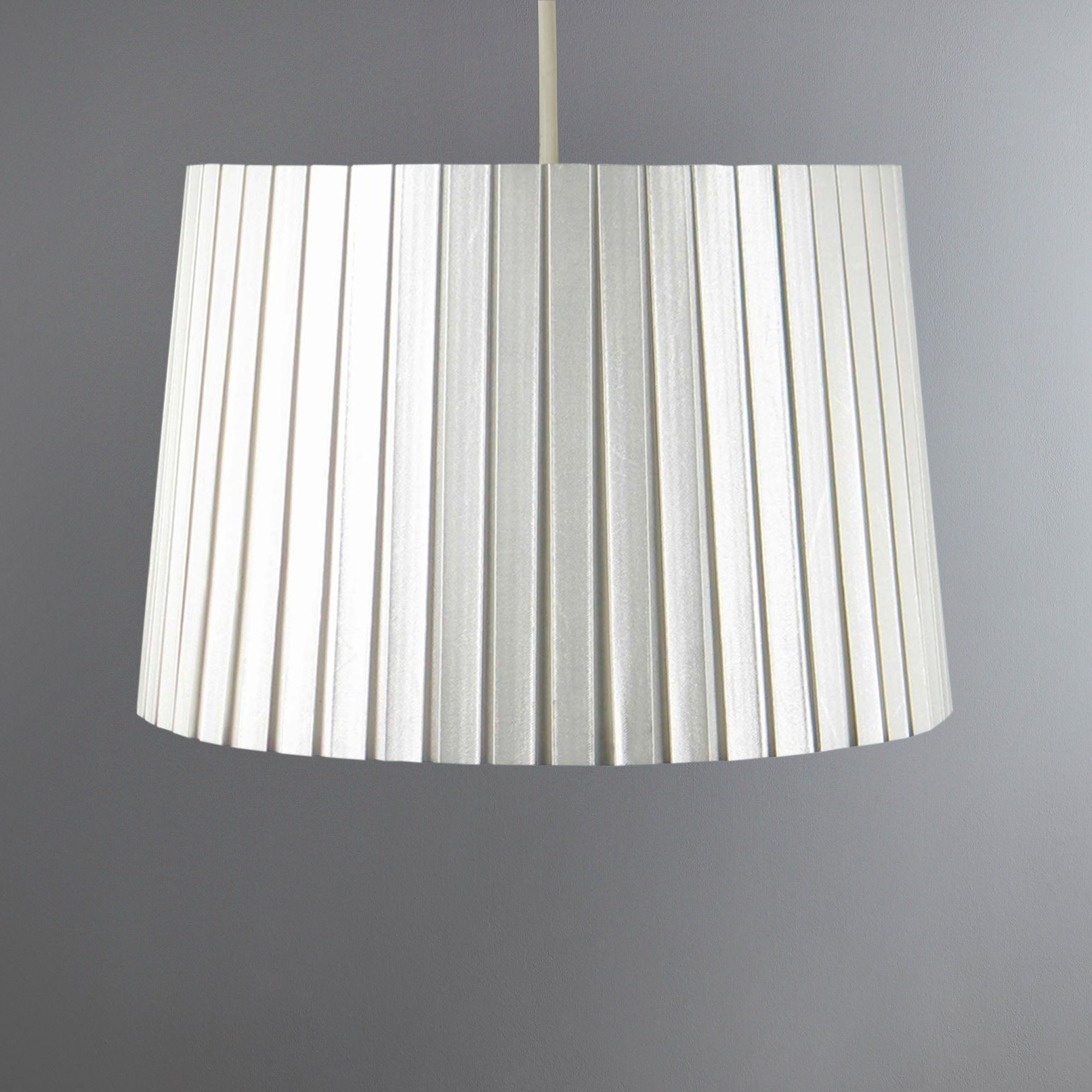 Knife Edge Pleat Pendant Shade
