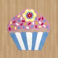 Kids Cupcake Rug