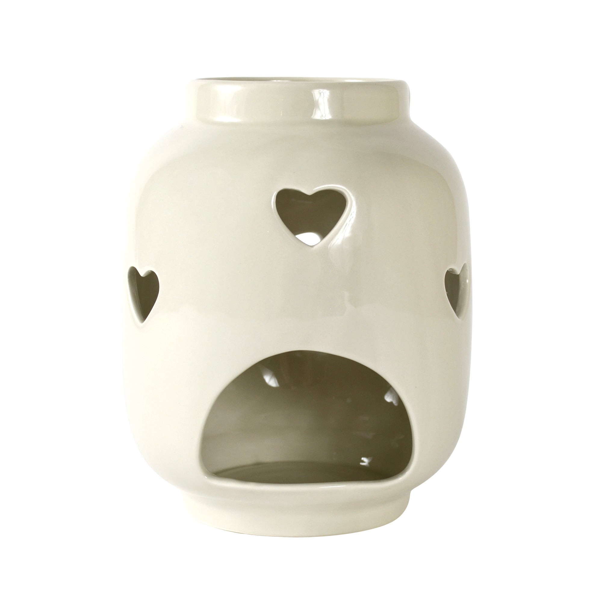 Ruby Collection Heart Cut Out Lantern