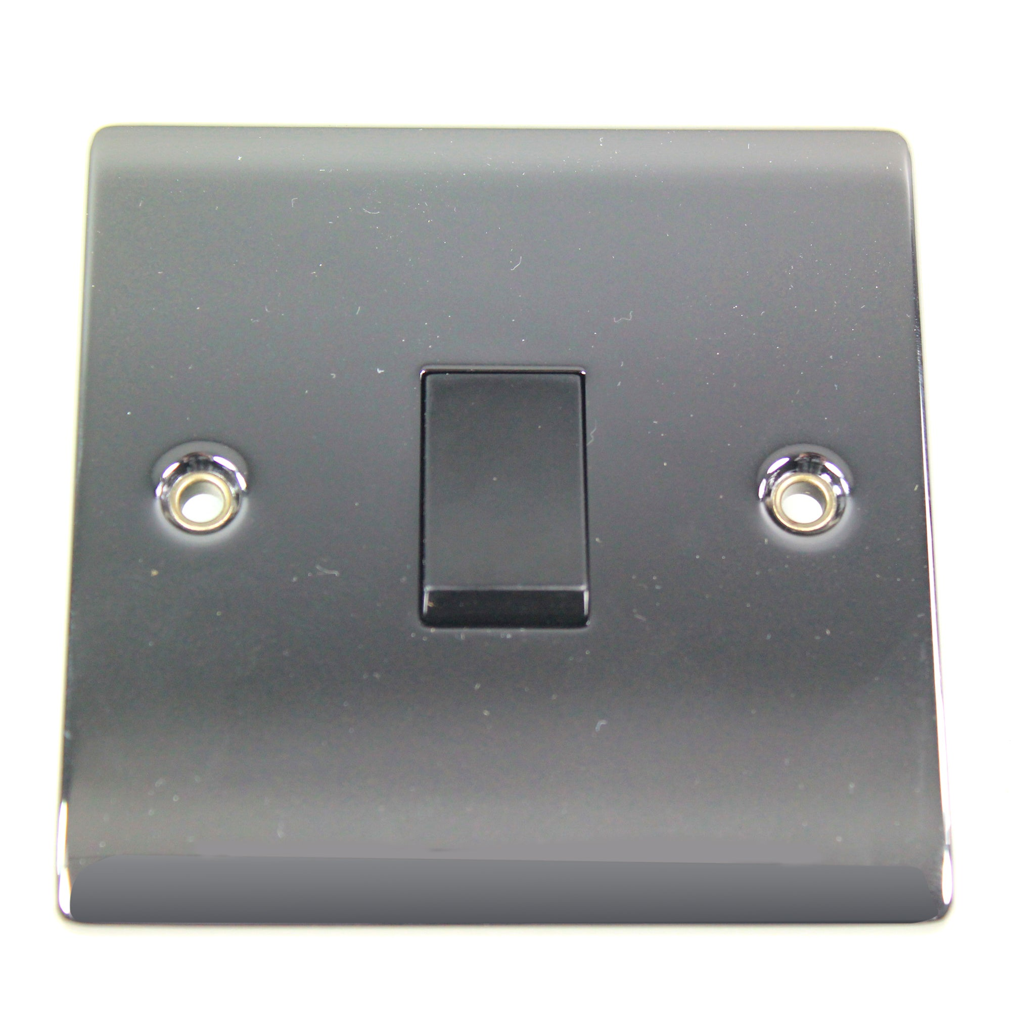 1 Gang 2 Way Black Nickel Light Switch